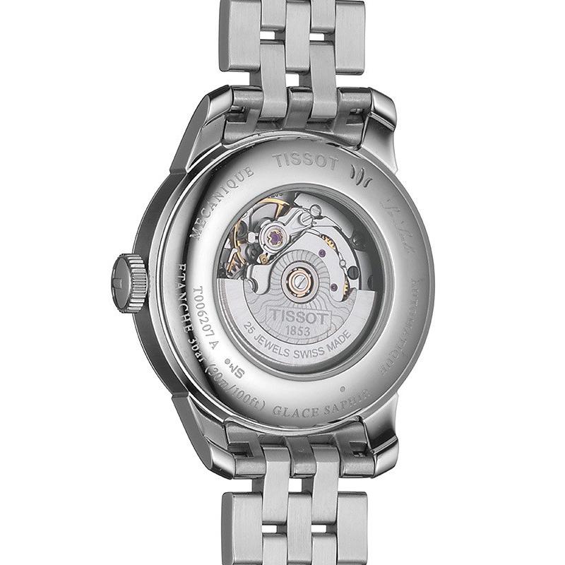 Tissot T006.207.11.126.00 zegarek srebrny elegancki Le Locle bransoleta