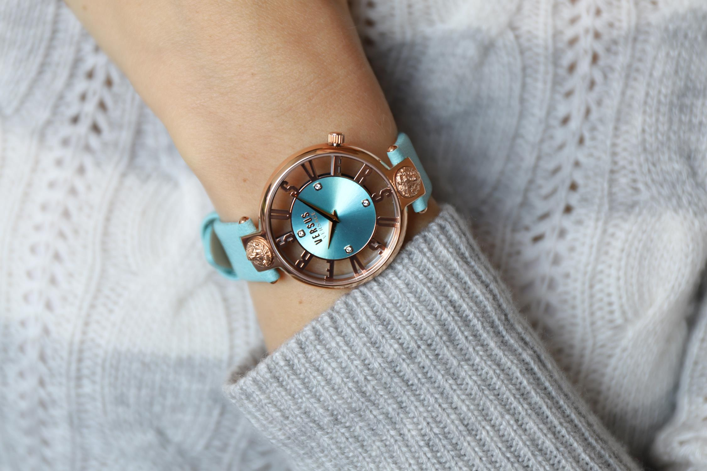 zegarek Versus Versace VSP490418 kwarcowy damski Damskie KIRSTENHOF