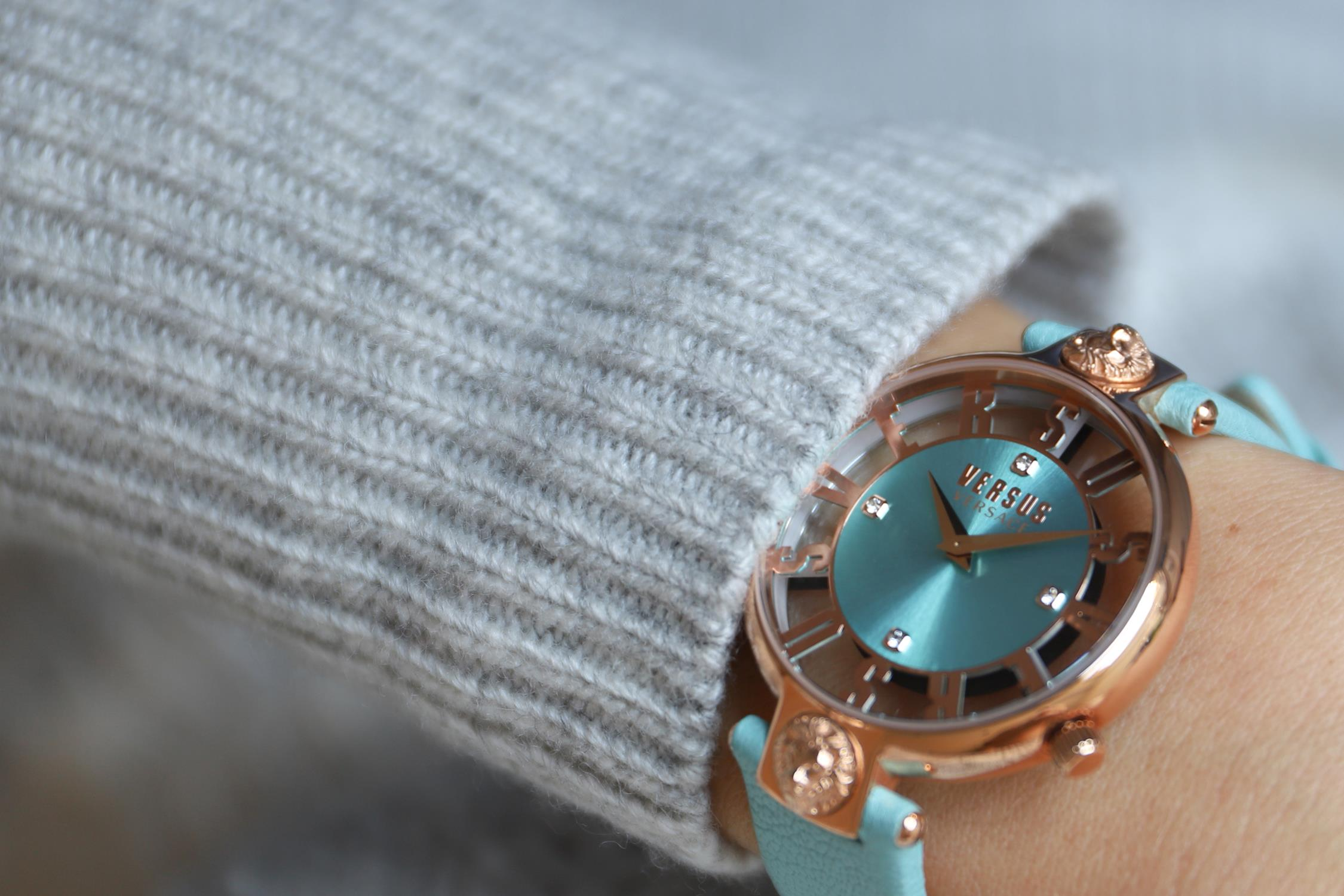 Versus Versace VSP490418 Damskie KIRSTENHOF zegarek damski fashion/modowy mineralne
