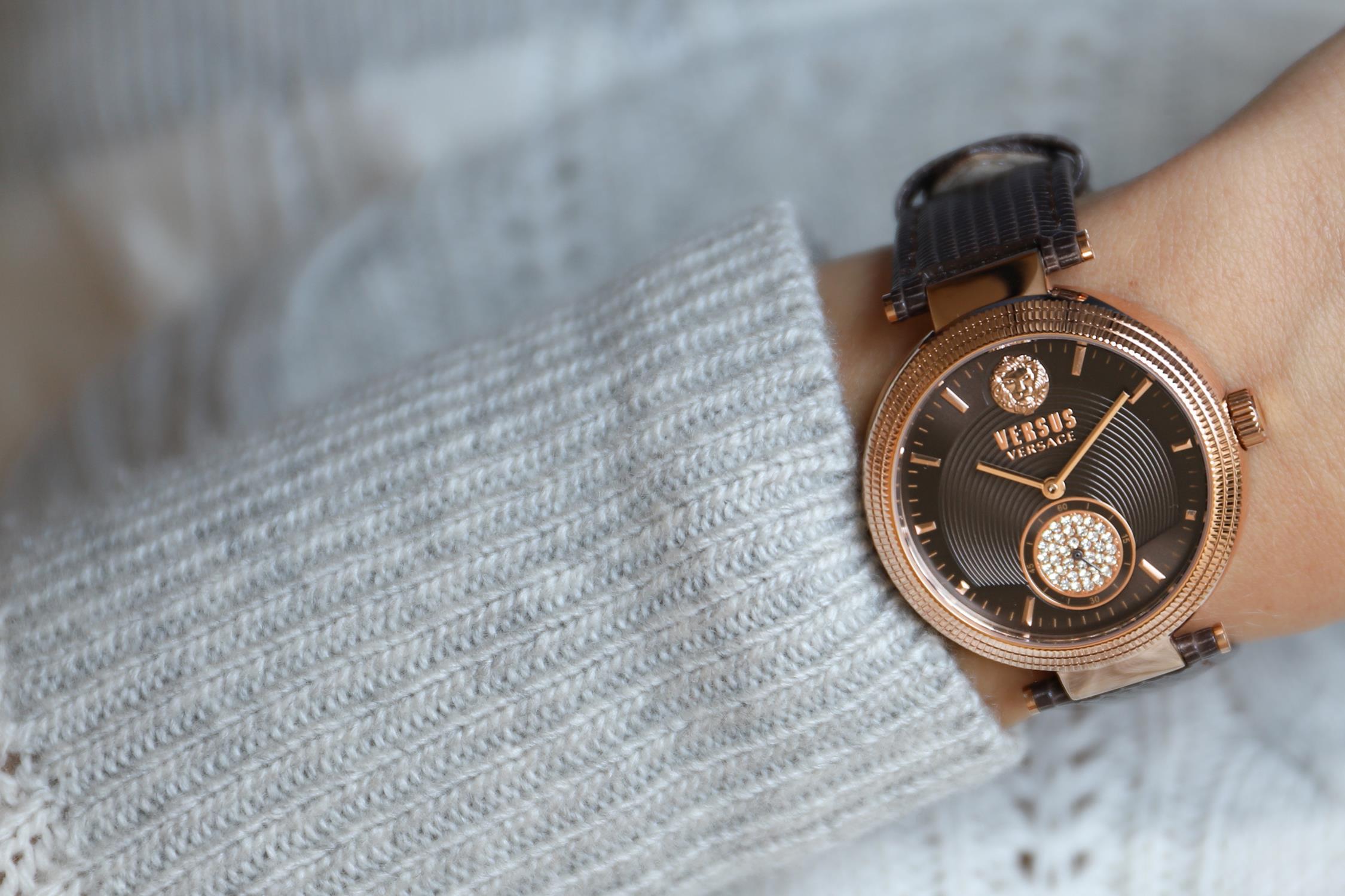 zegarek Versus Versace VSP791318 różowe złoto Damskie