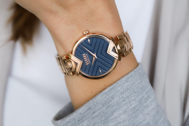 zegarek Versus Versace VSPLH0819 różowe złoto Damskie