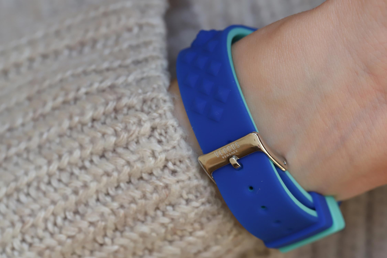 Versus Versace VSPOQ2618 zegarek niebieski fashion/modowy Damskie pasek
