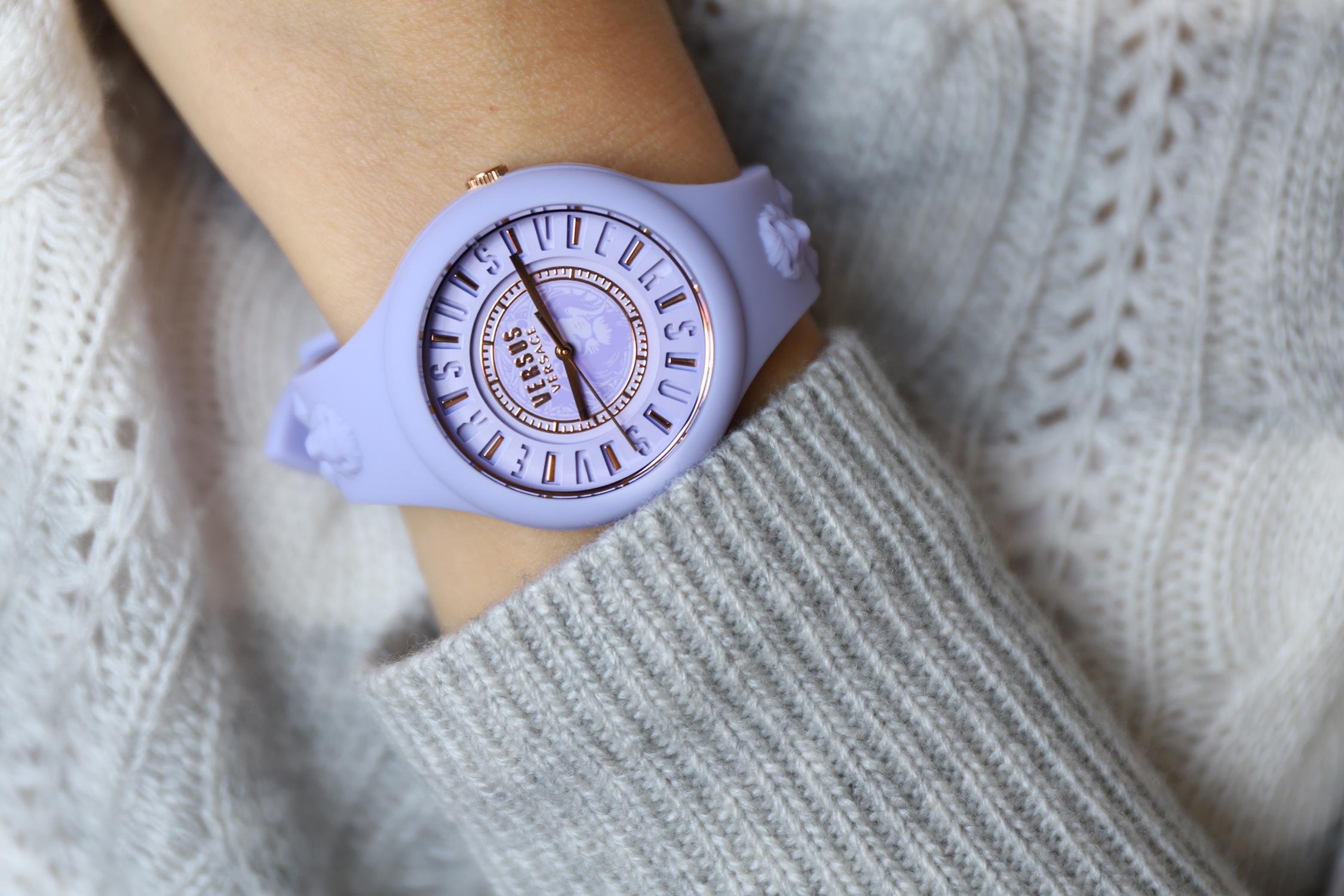Versus Versace VSPOQ4319 damski zegarek Damskie pasek