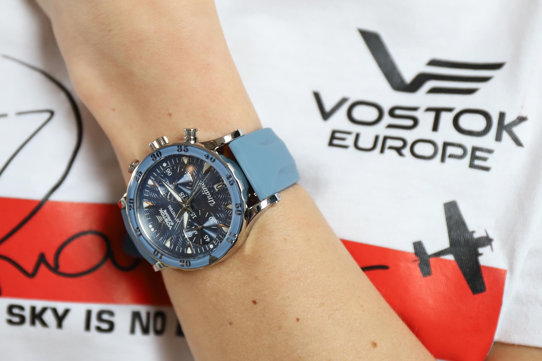 Vostok Europe VK64-515A526 zegarek europejskie Undine