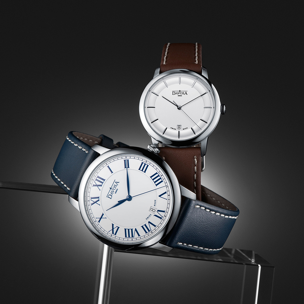 Davosa 162.480.15 męski zegarek Executive pasek