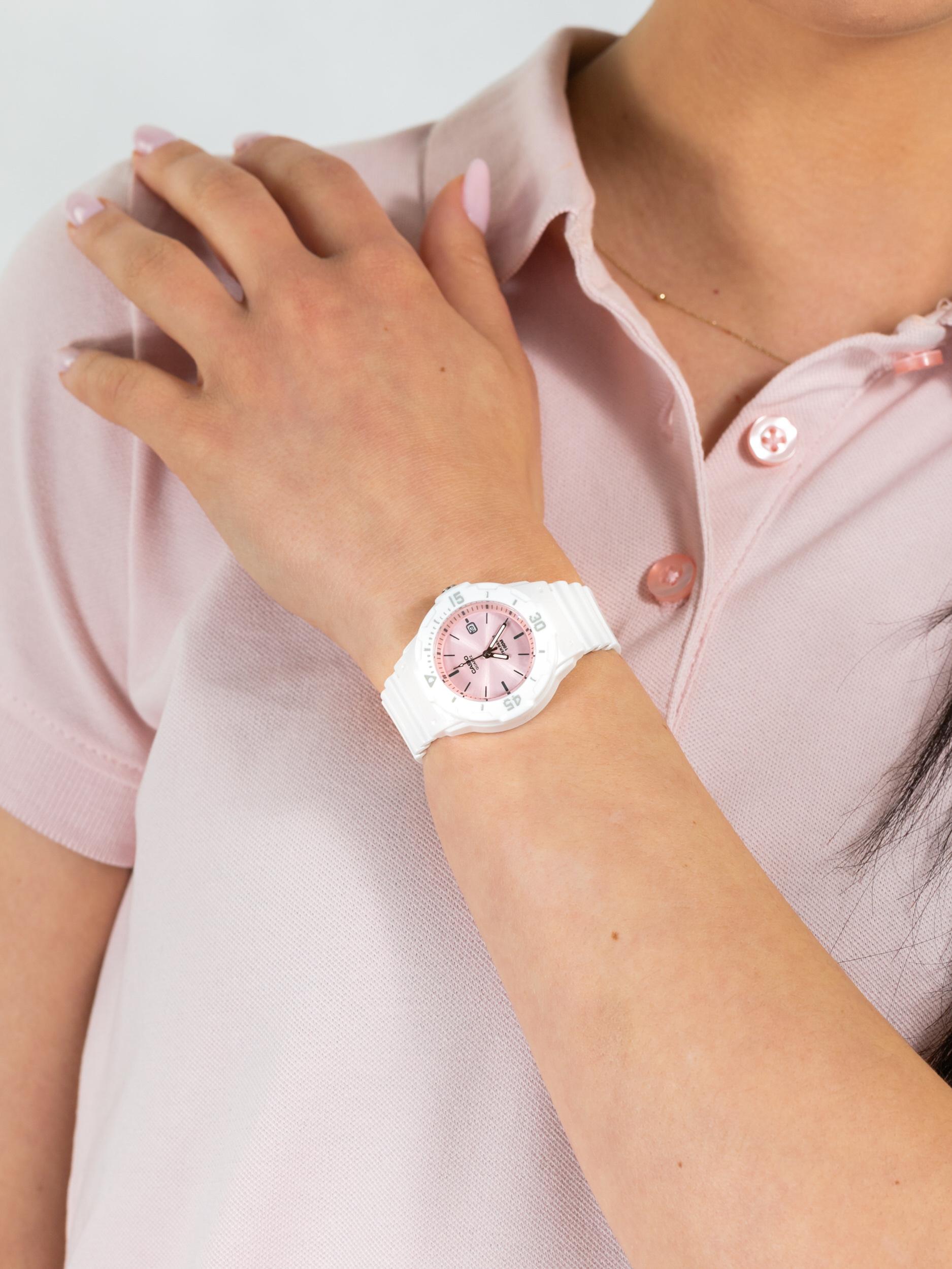 Casio LRW-200H-4E3VEF dla dzieci zegarek Sportowe pasek