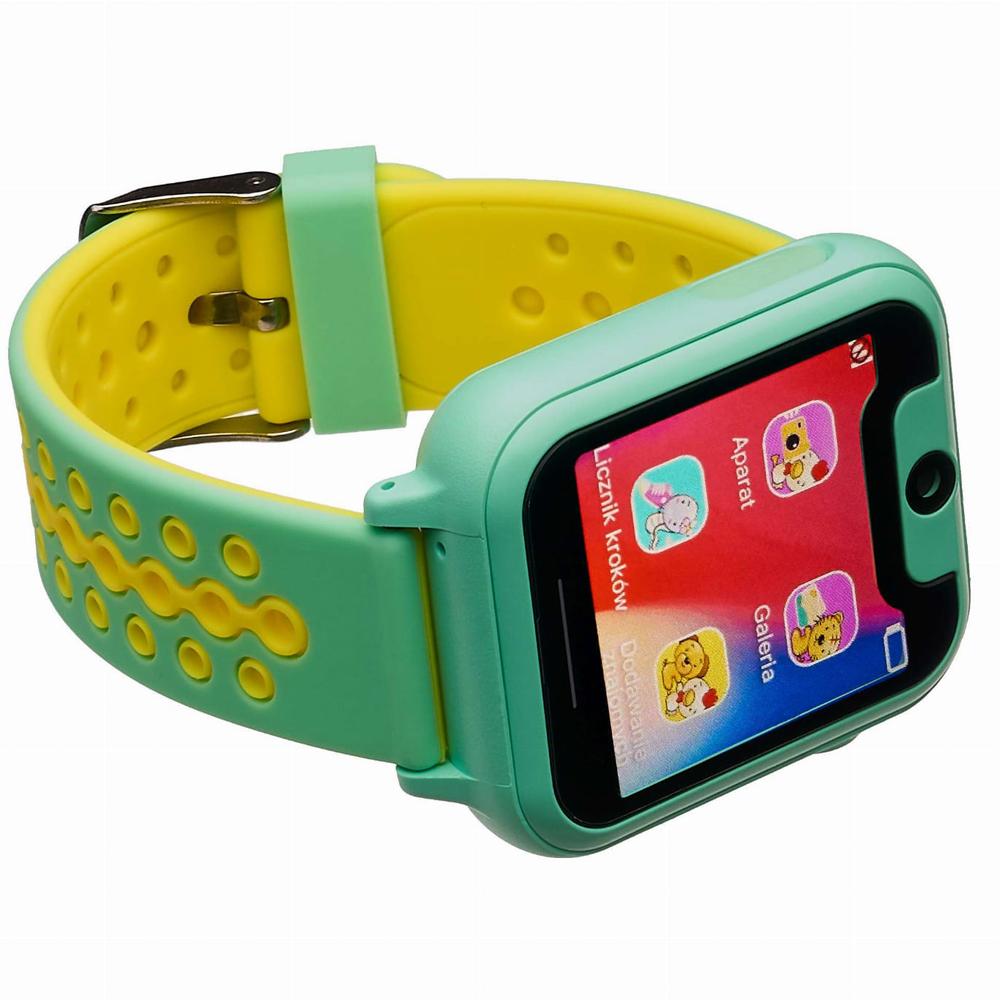 Garett 5903246281996 zegarek zielony sportowy Dla dzieci pasek