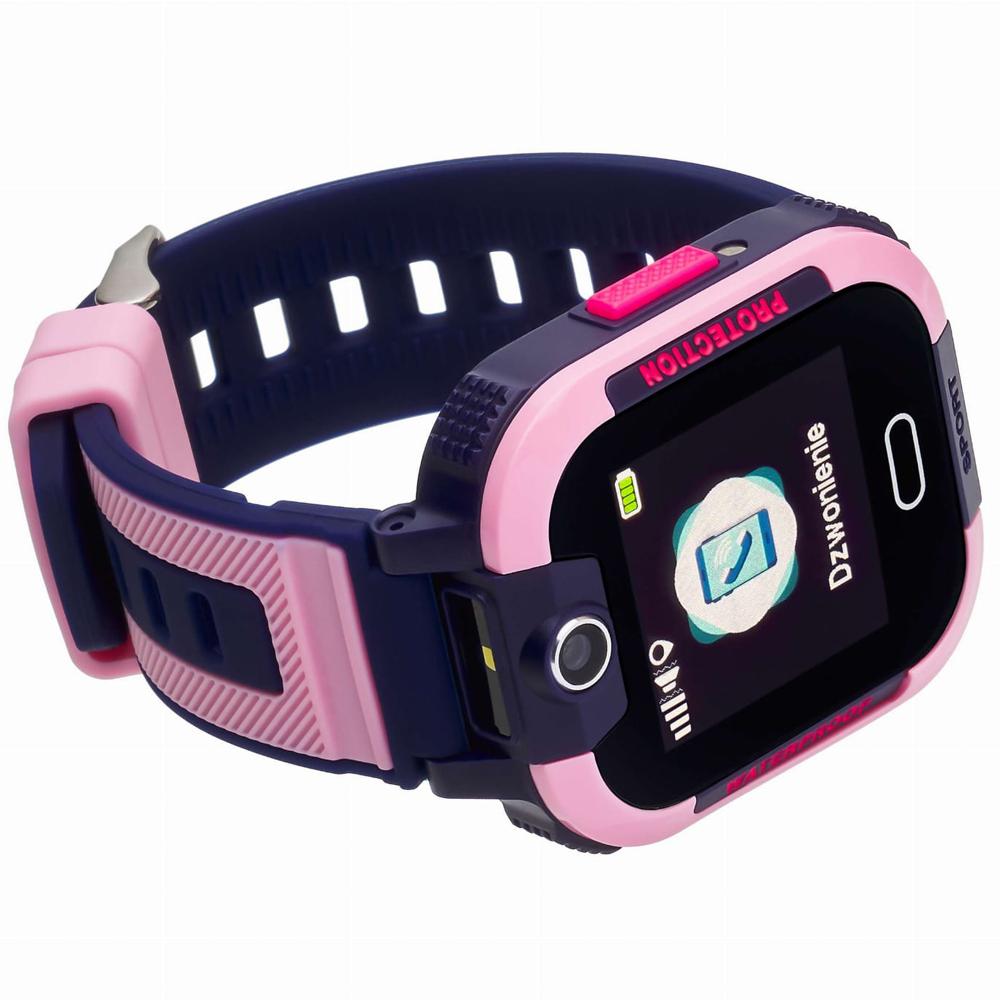 Garett 5903246286878 zegarek niebieski sportowy Dla dzieci pasek
