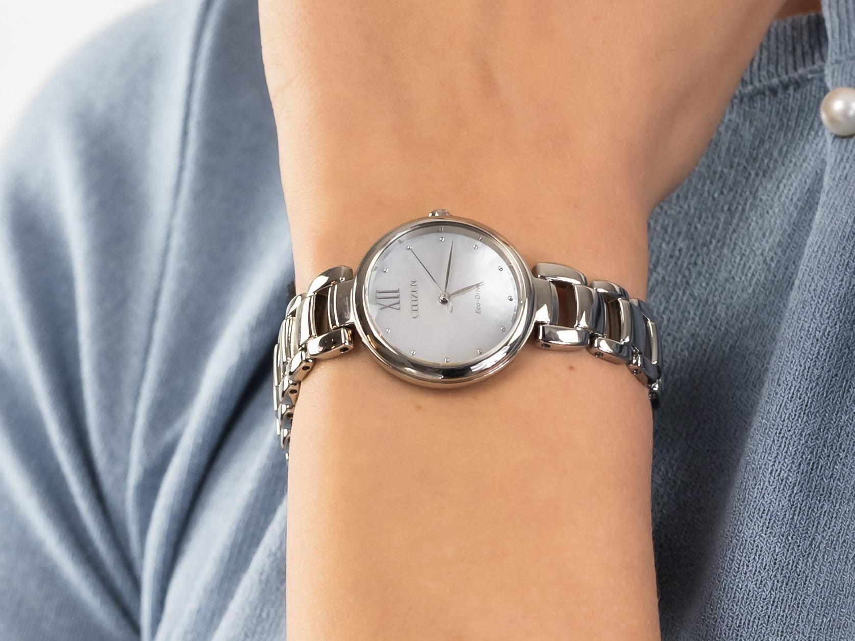 Citizen EM0530-81D zegarek elegancki Elegance