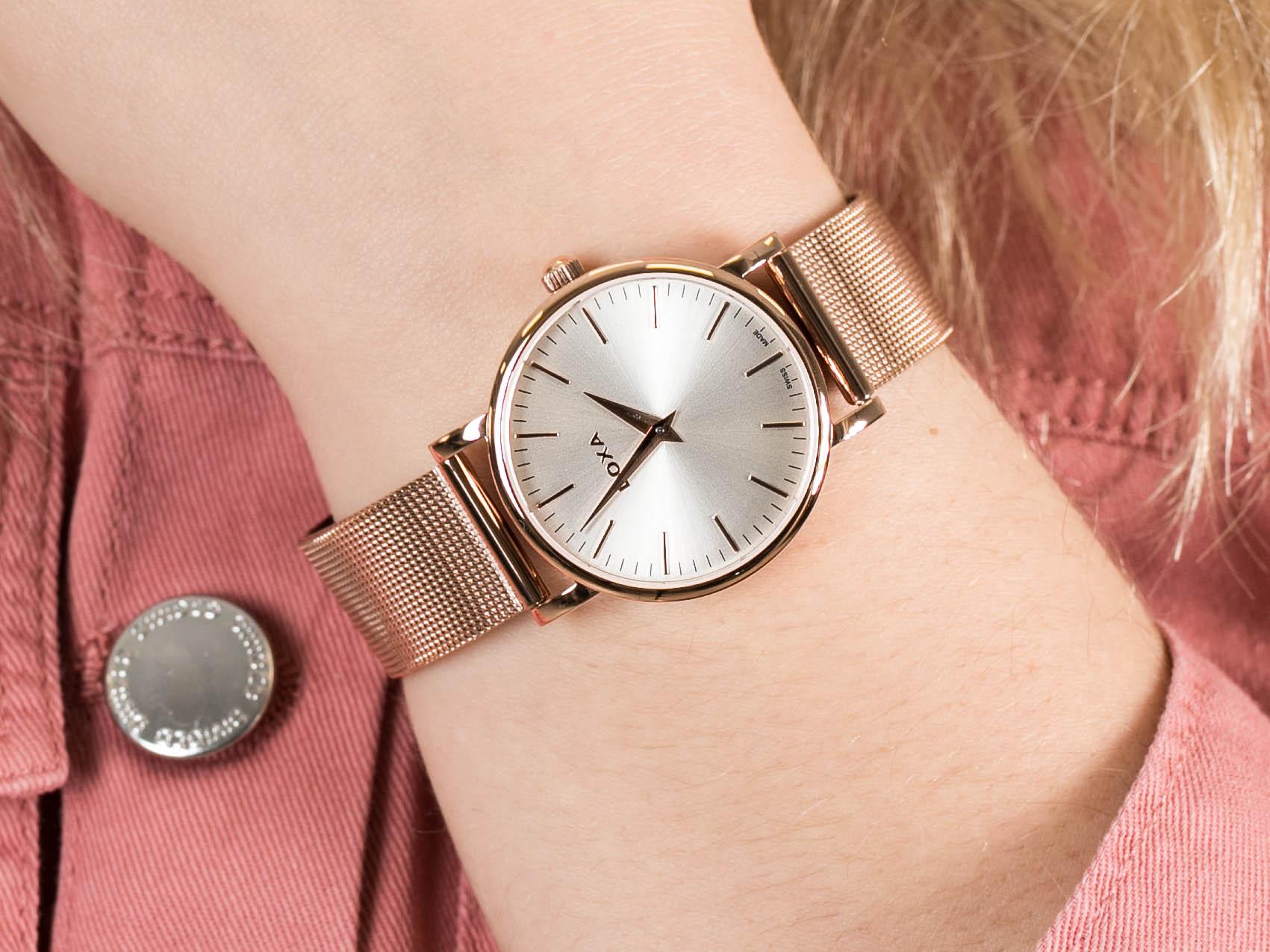 Doxa 173.95.021.17 zegarek elegancki D-Light