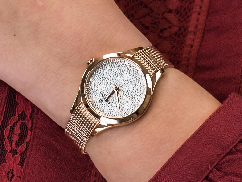 Festina F20338-1 Swarovski zegarek elegancki Mademoiselle