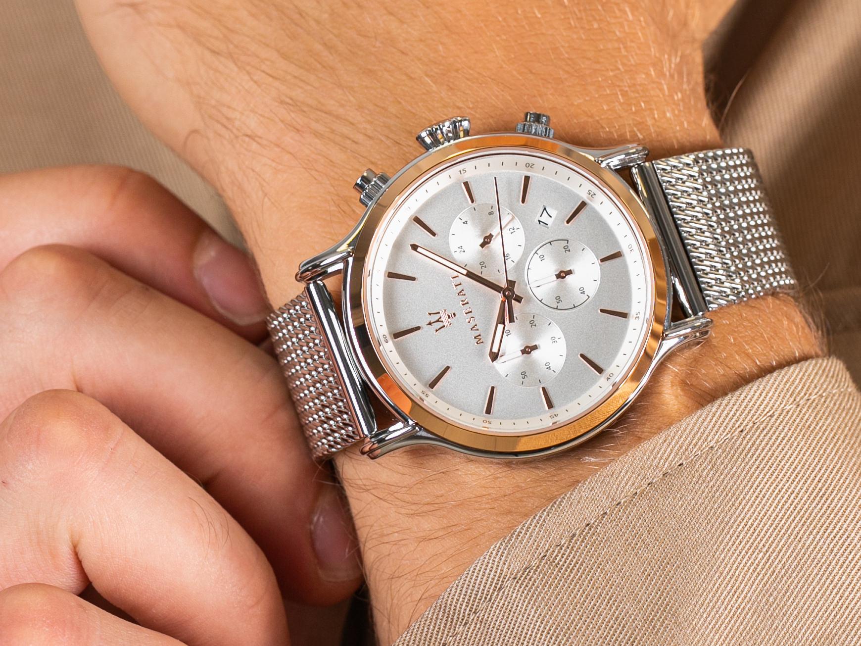 Maserati R8873618009 EPOCA zegarek elegancki Epoca