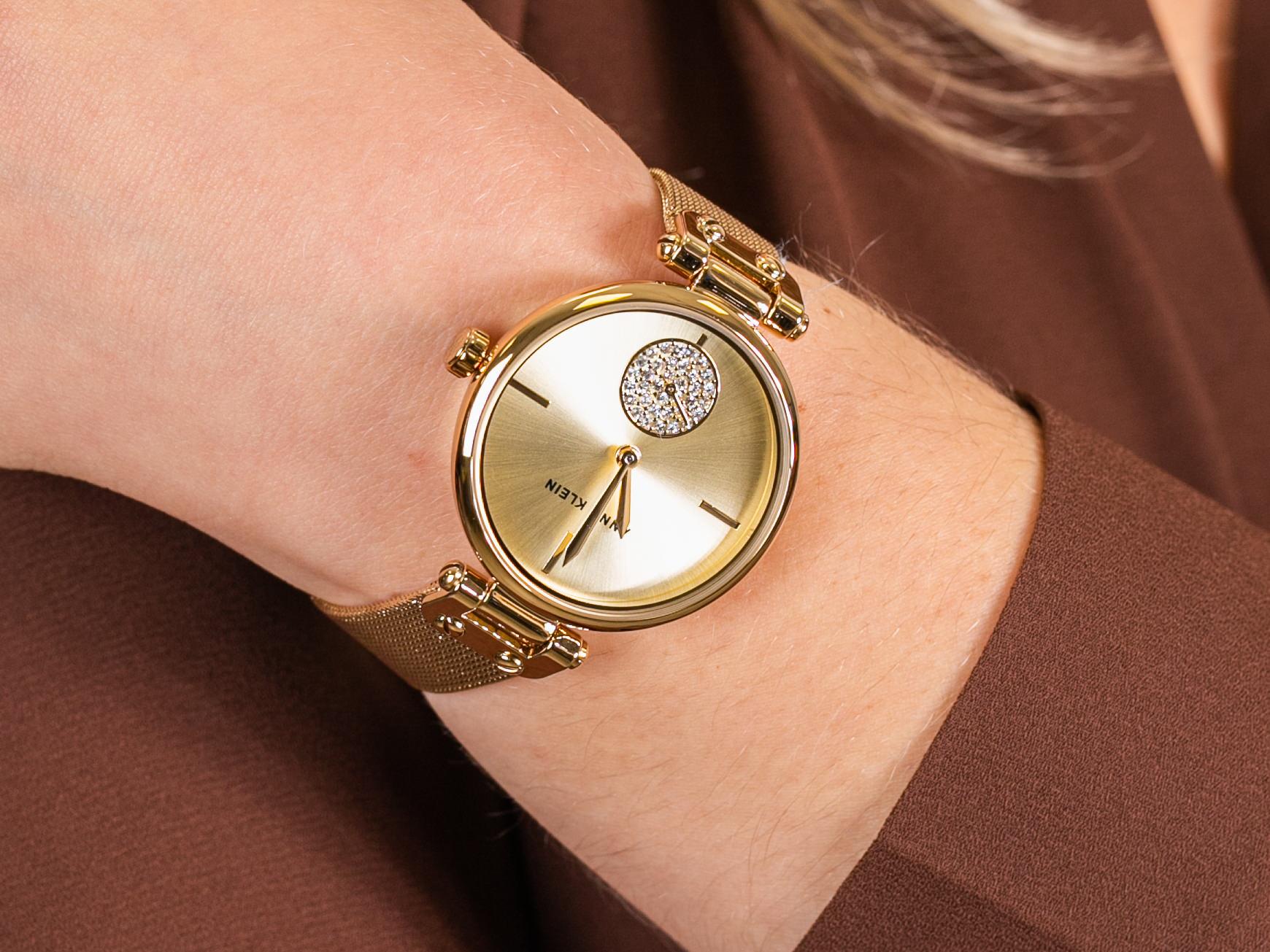 Anne Klein AK-3000CHGB zegarek fashion/modowy Bransoleta