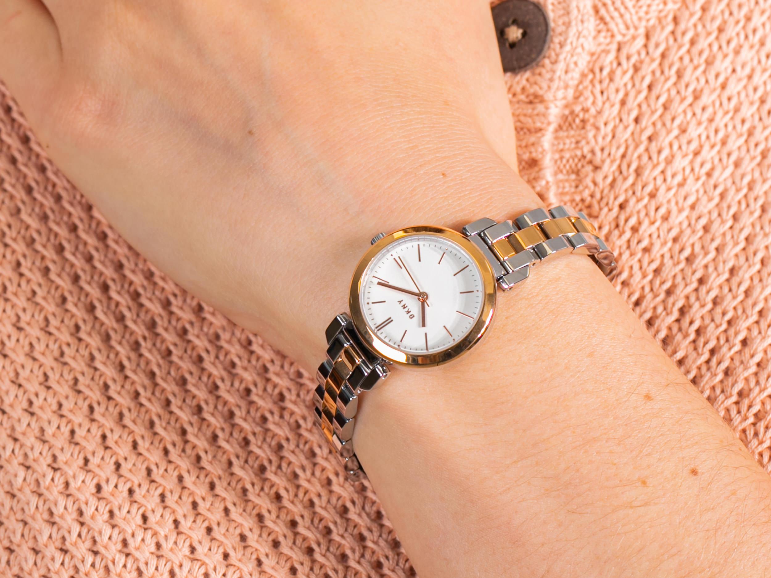 zegarek DKNY NY2593 srebrny Bransoleta