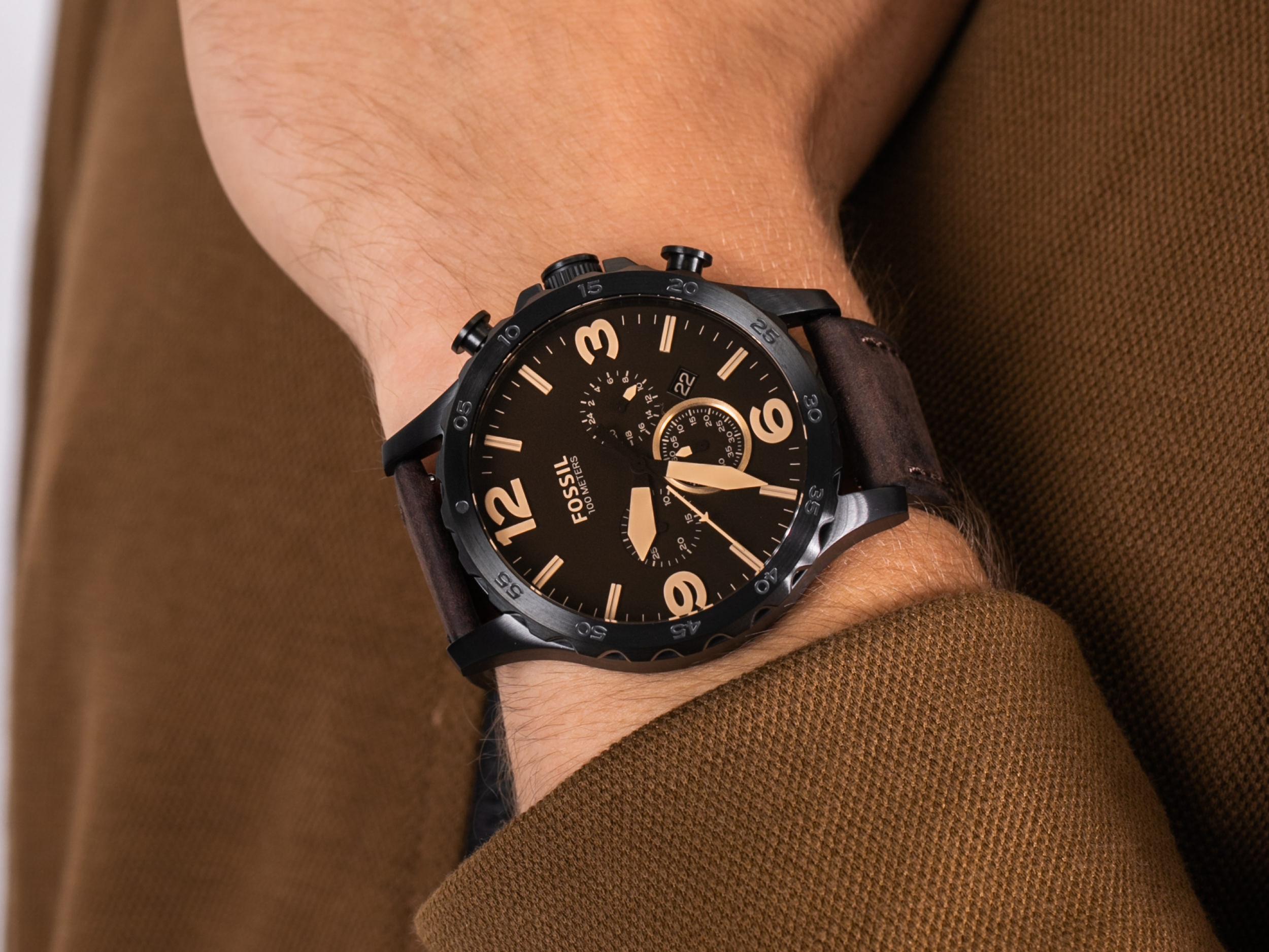 Fossil JR1487 NATE zegarek fashion/modowy Trend