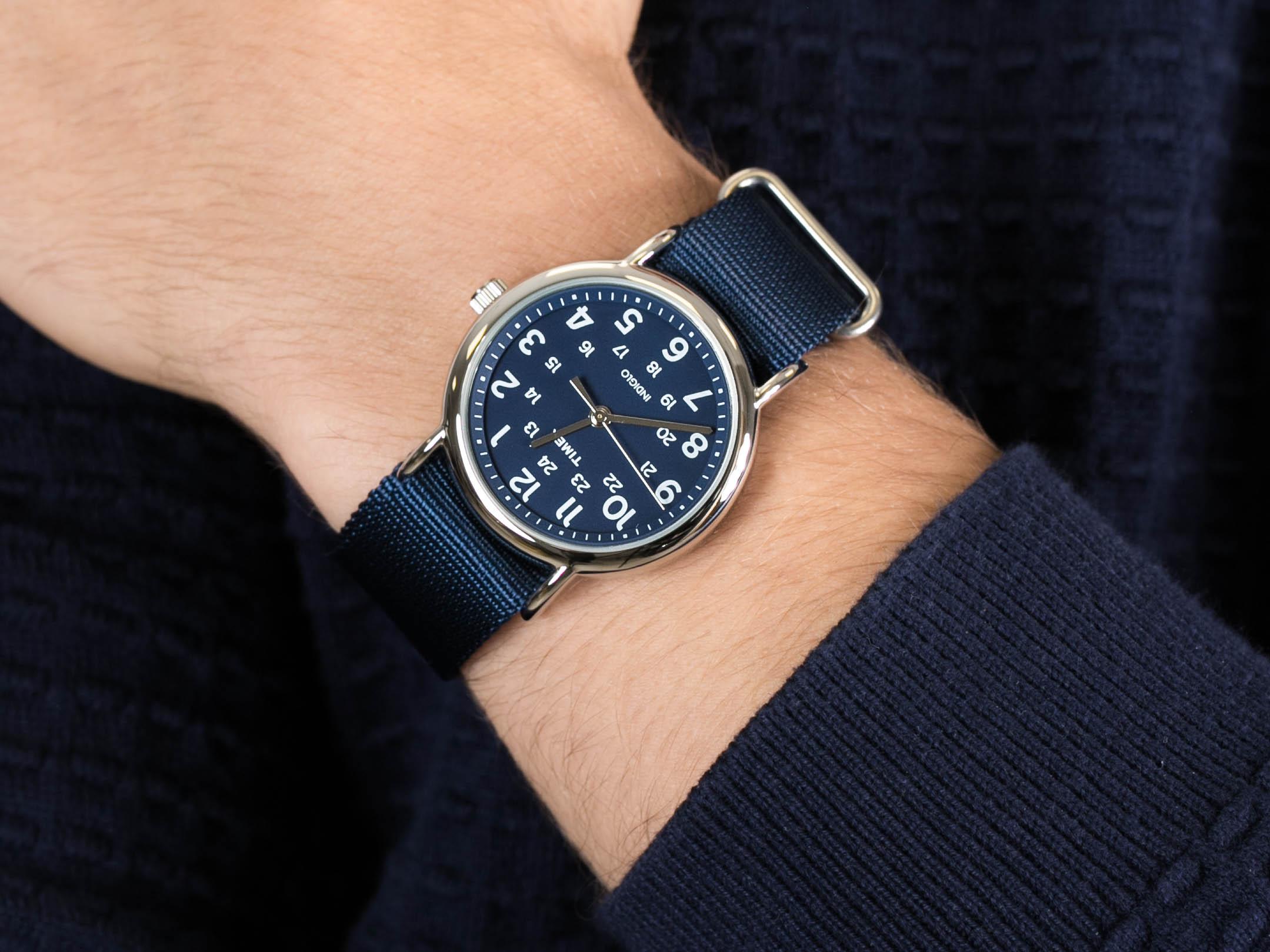 Timex TW2P65700ZN zegarek fashion/modowy Weekender