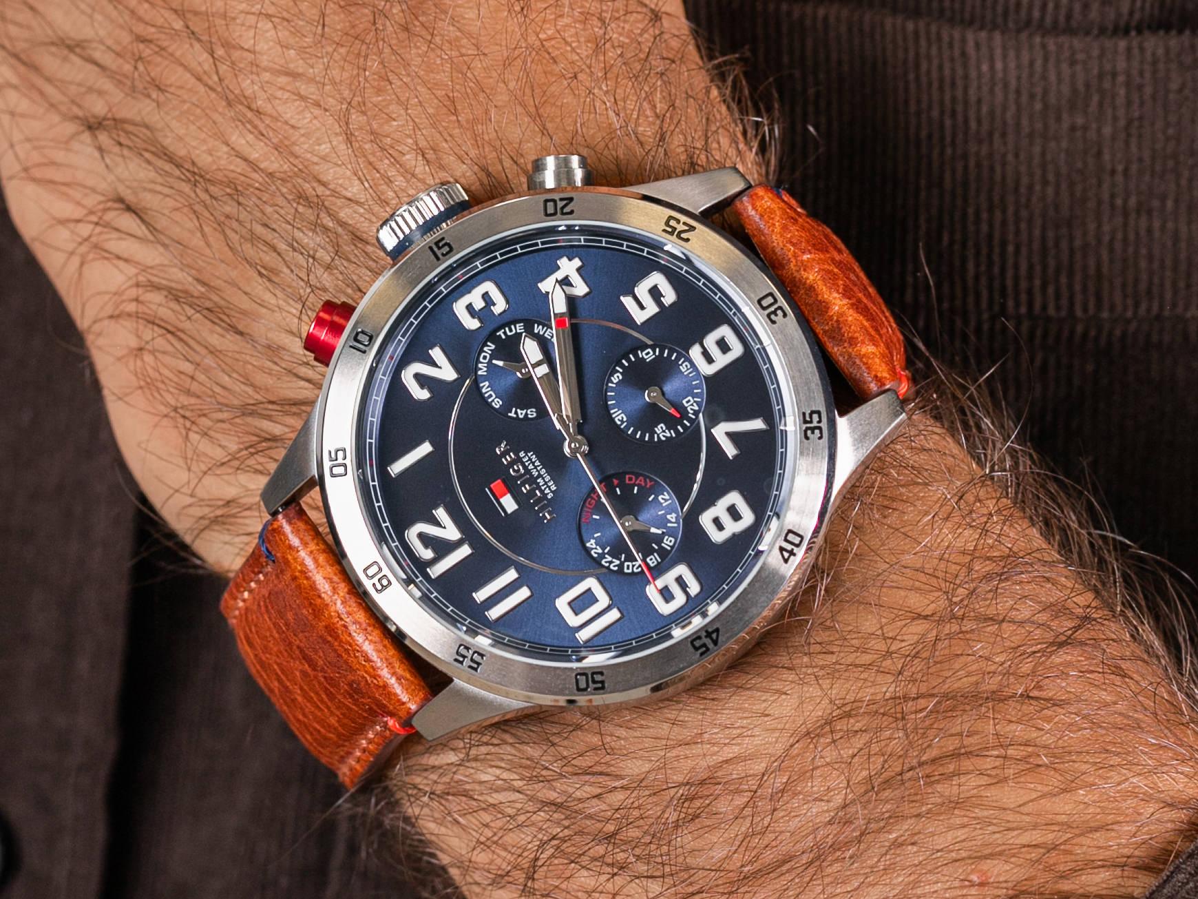 Tommy Hilfiger 1791066 zegarek fashion/modowy Męskie