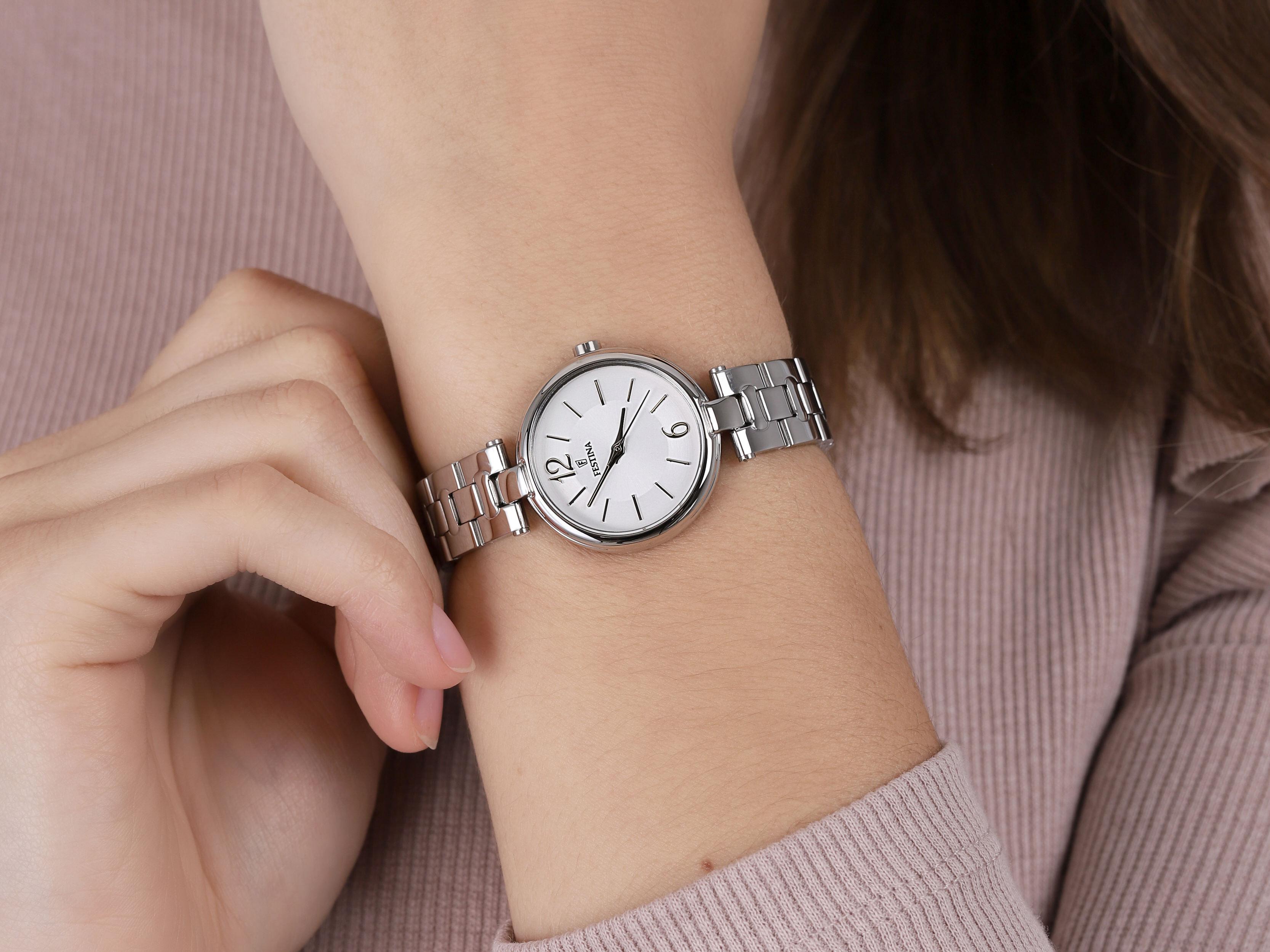 zegarek Festina F20311-1 srebrny Mademoiselle