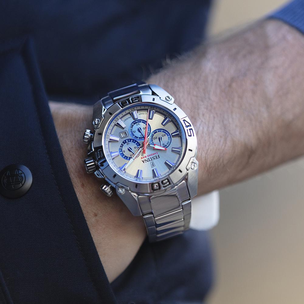zegarek Festina F20543-1 męski z chronograf Chrono Bike