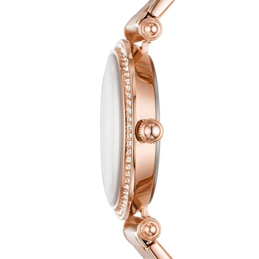 Fossil ES4711 zegarek różowe złoto klasyczny Lyric bransoleta
