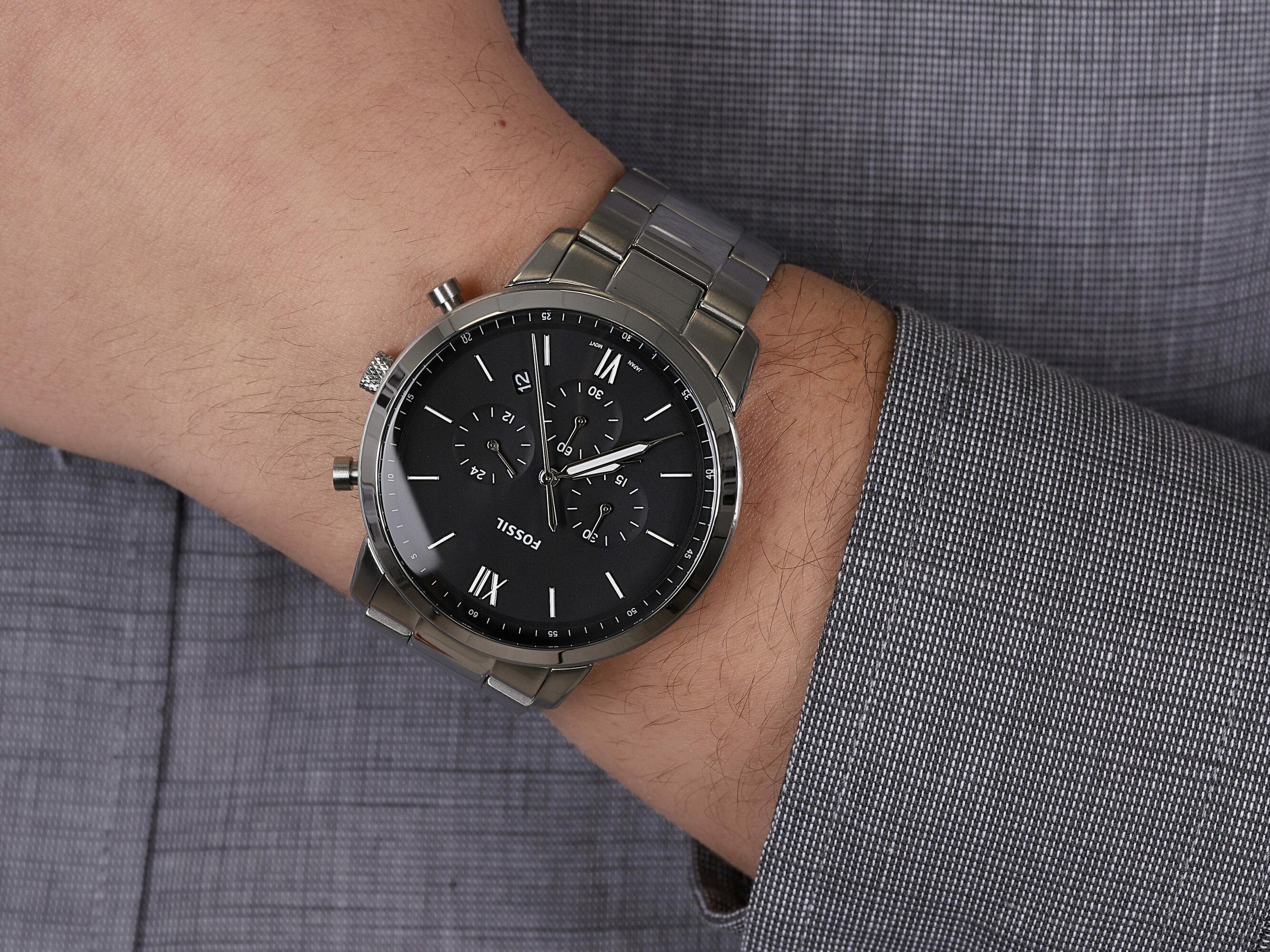 zegarek Fossil FS5384 męski z chronograf Grant