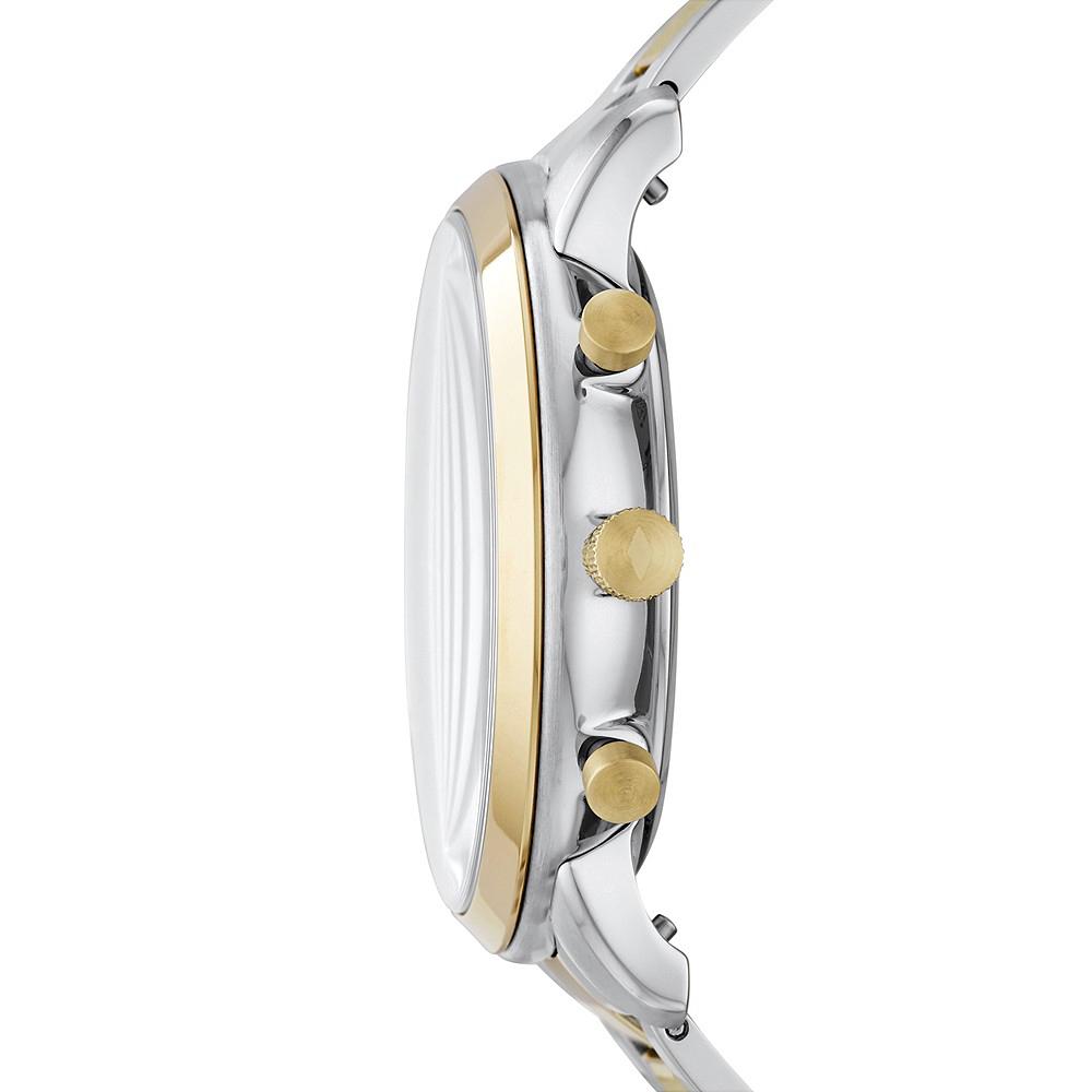 Fossil FS5706 zegarek srebrny klasyczny Neutra bransoleta