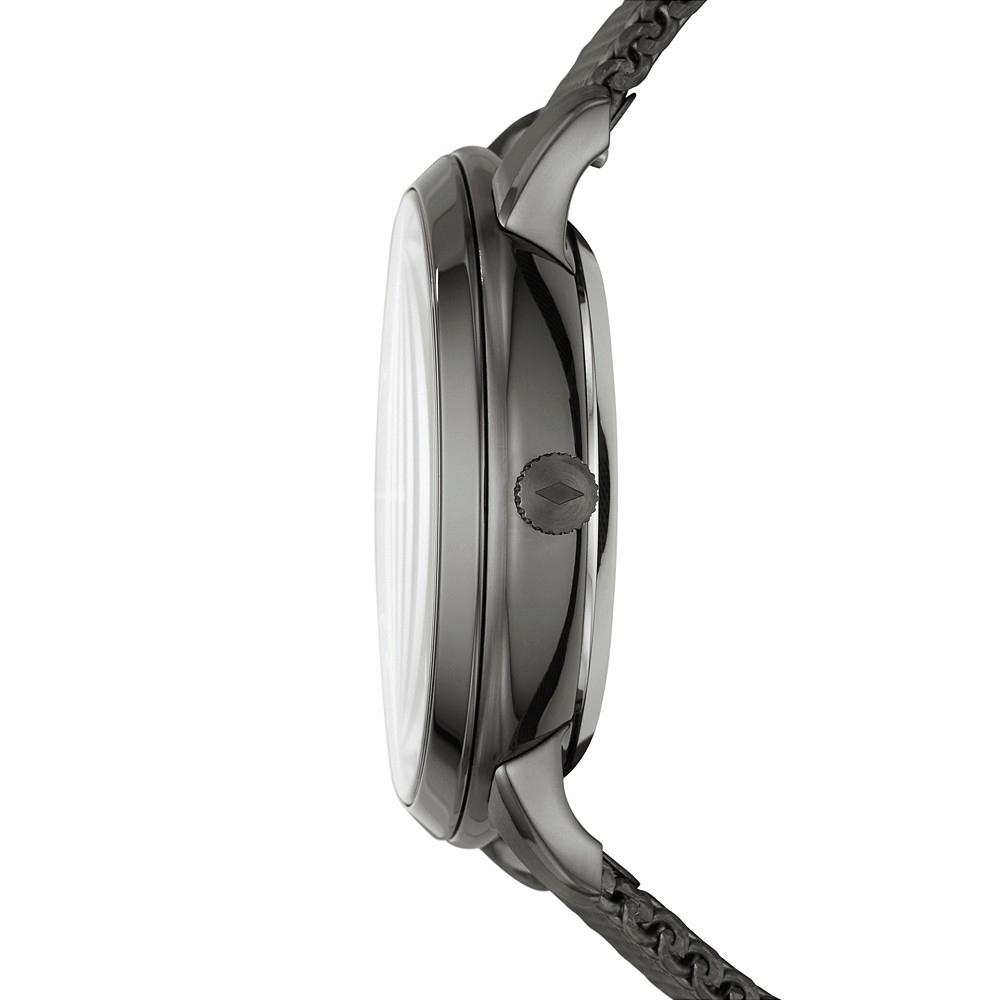 Fossil ME3185 zegarek szary klasyczny Neutra bransoleta