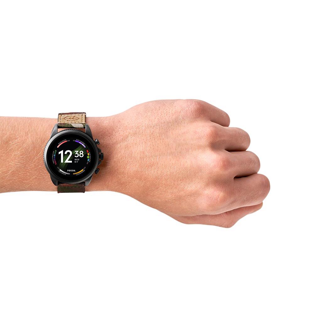 zegarek Fossil Smartwatches FTW4063 czarny Fossil Q
