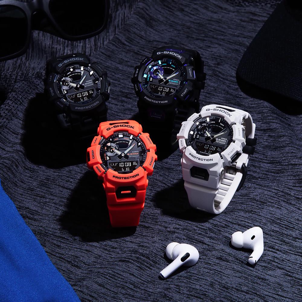 zegarek G-SHOCK GBA-900-7AER kwarcowy męski Budzik