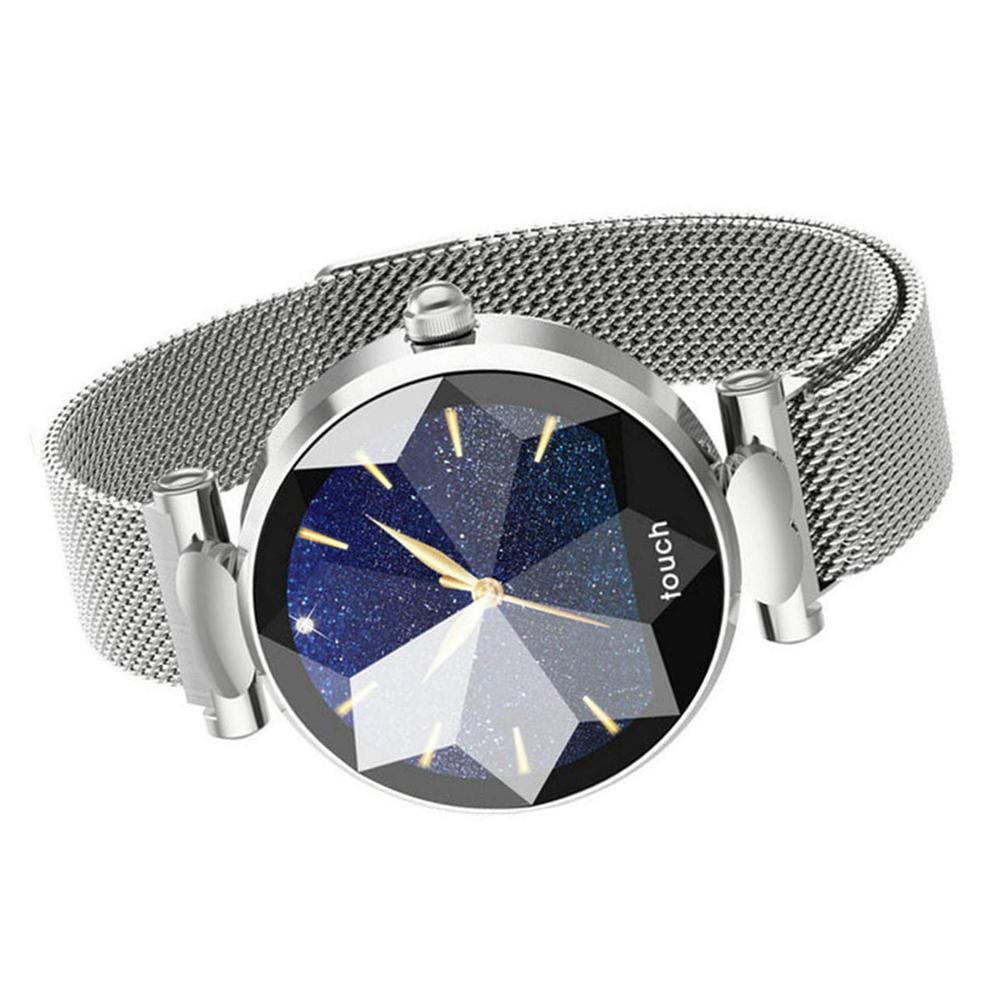 Garett 5903246282825 zegarek srebrny sportowy Damskie bransoleta