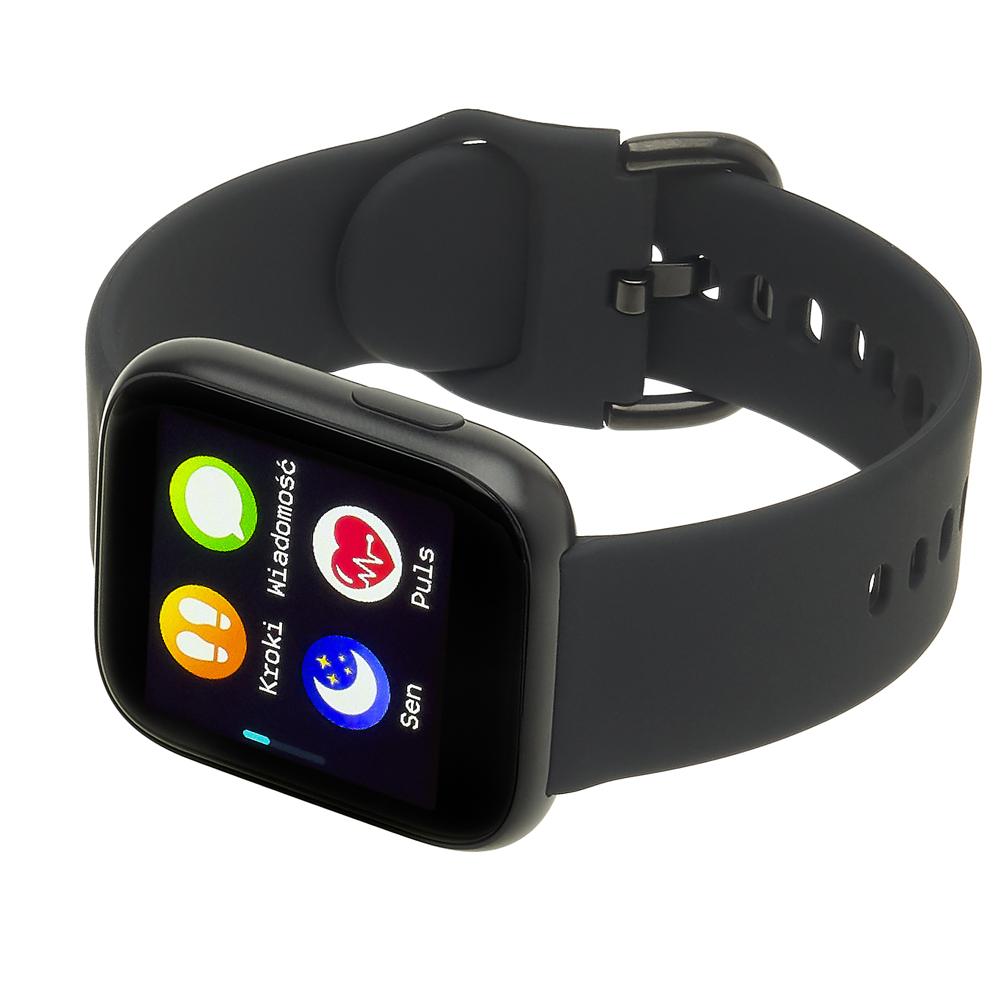 Garett 5903246287158 zegarek czarny sportowy Damskie pasek