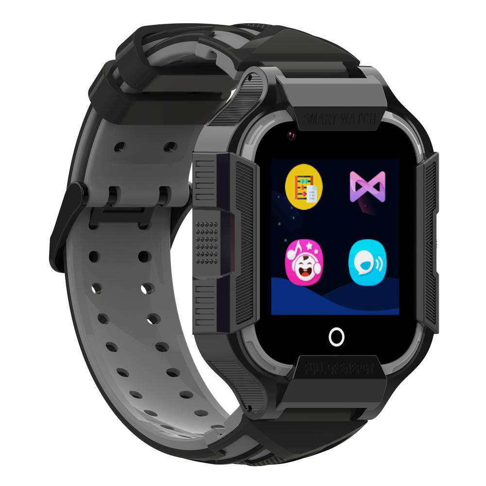 zegarek Garett 5904238481110 Smartwatch Garett Kids Bloom 4G RT dla dzieci z gps Dla dzieci