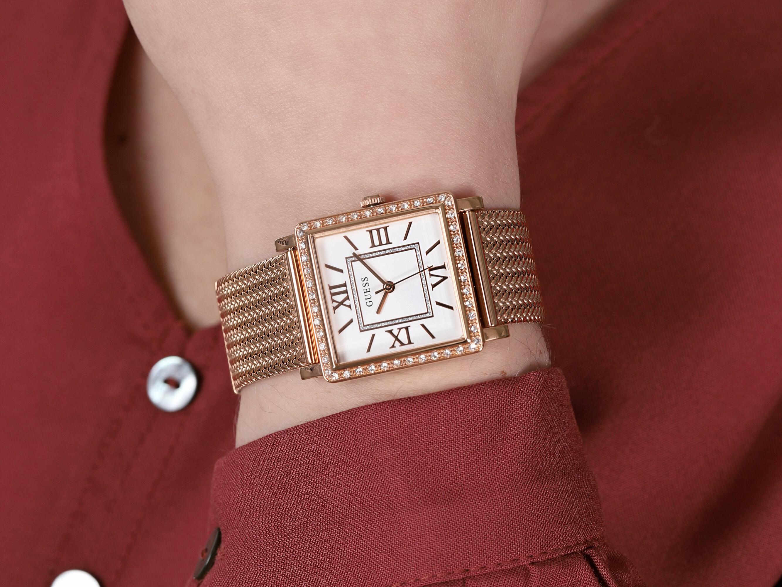 zegarek Guess W0826L3 kwarcowy damski Damskie