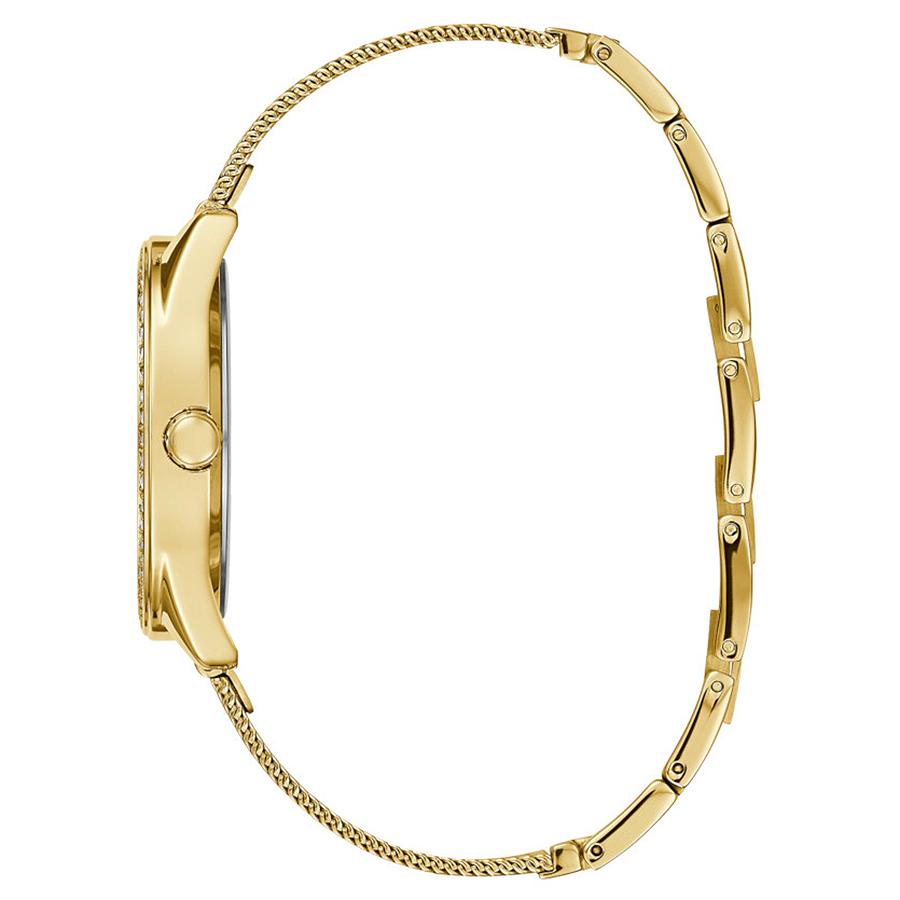 Guess W1279L2 zegarek złoty klasyczny Bransoleta bransoleta