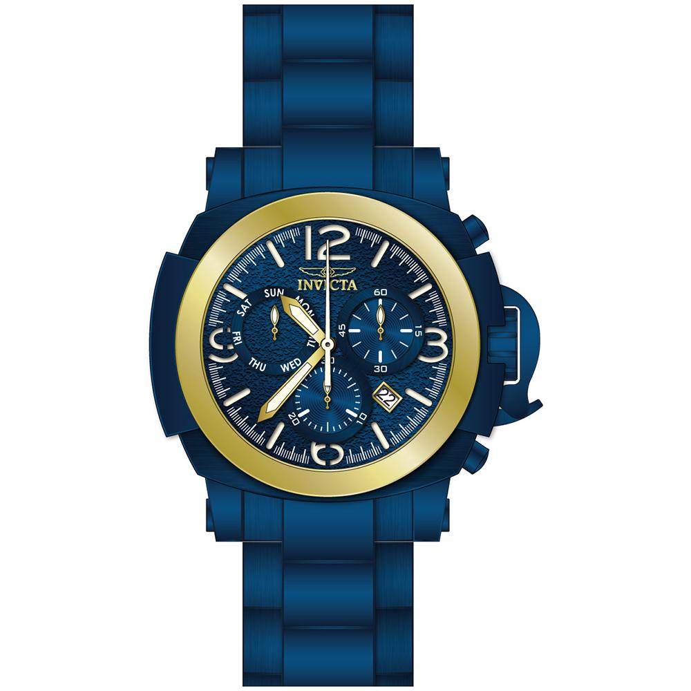 zegarek Invicta 36581 COALITION FORCES męski z chronograf Coalition Forces