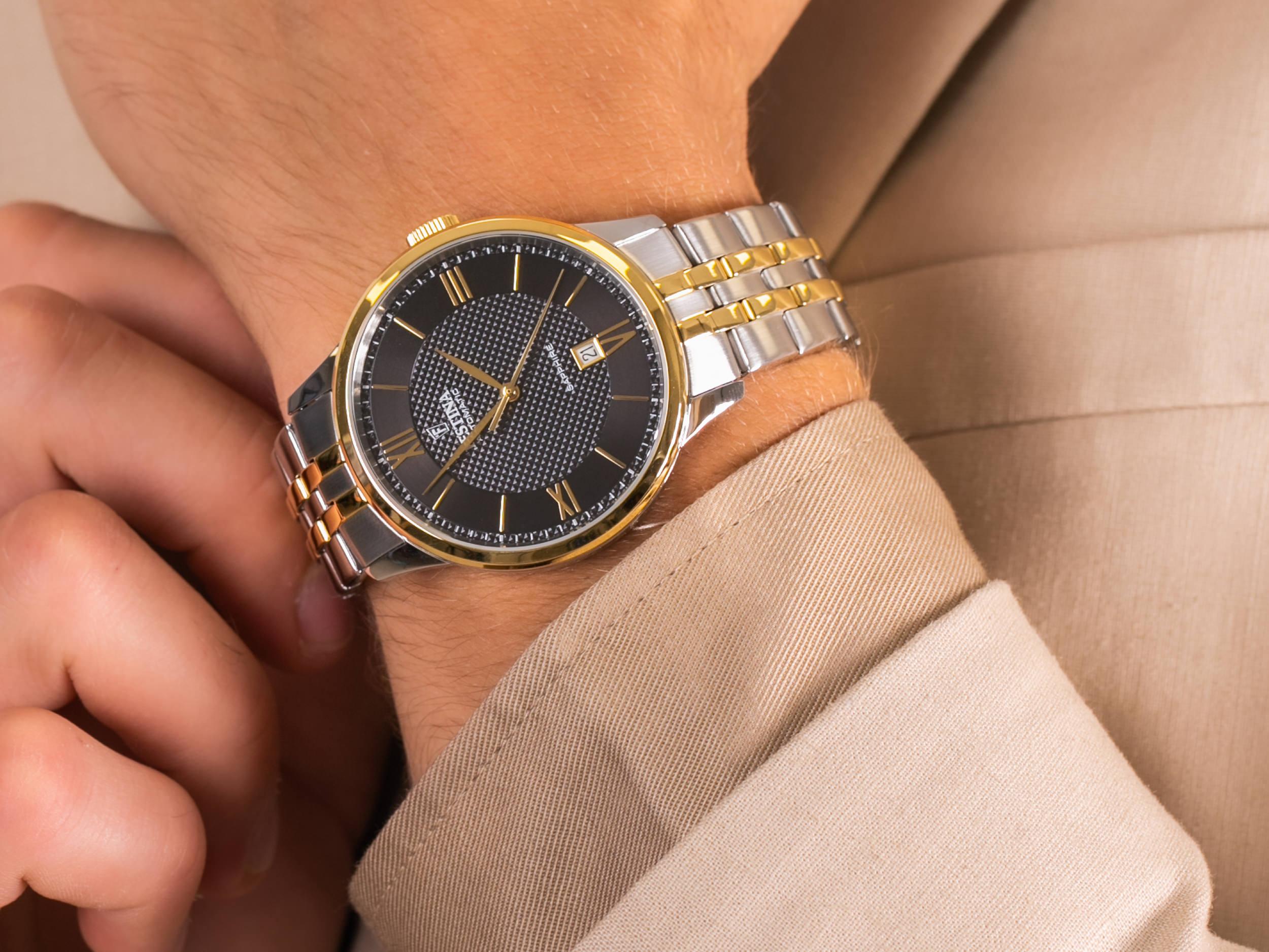 Festina F20483-3 Sapphire Automatic zegarek klasyczny Classic