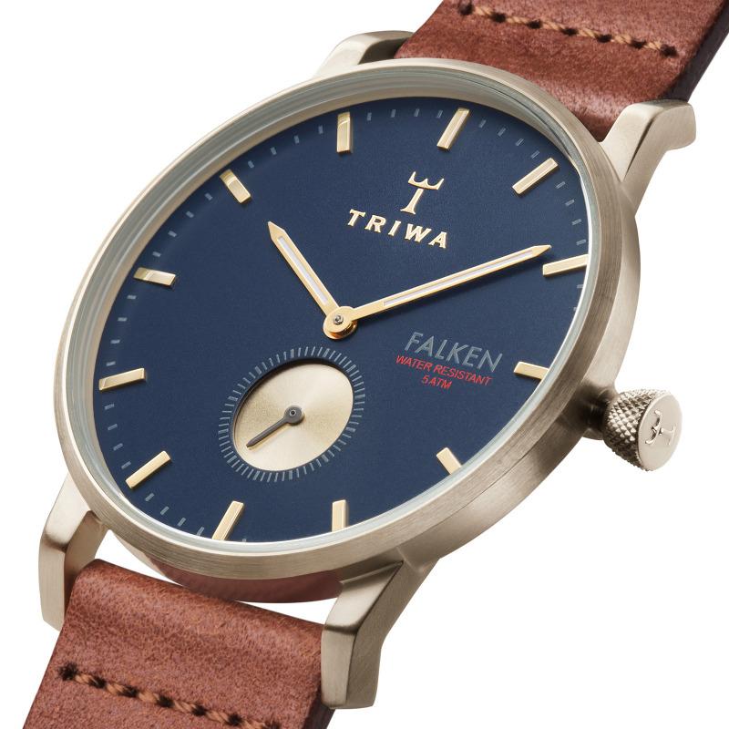Triwa FAST104-CL010217 męski zegarek Falken pasek