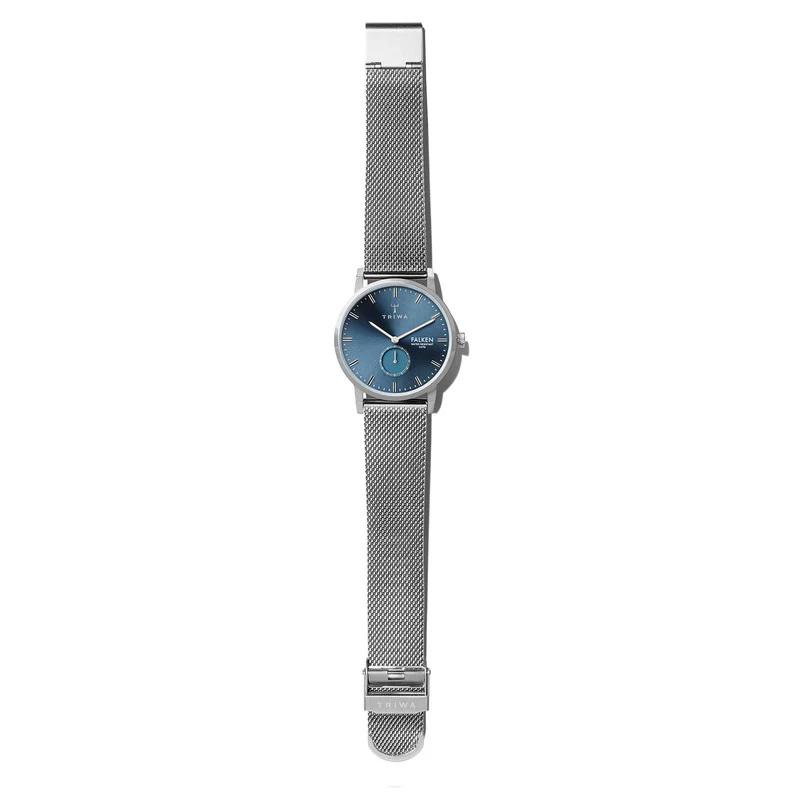 Triwa FAST121-ME021212 BLUE RAY FALKEN - STEEL MESH zegarek klasyczny Falken