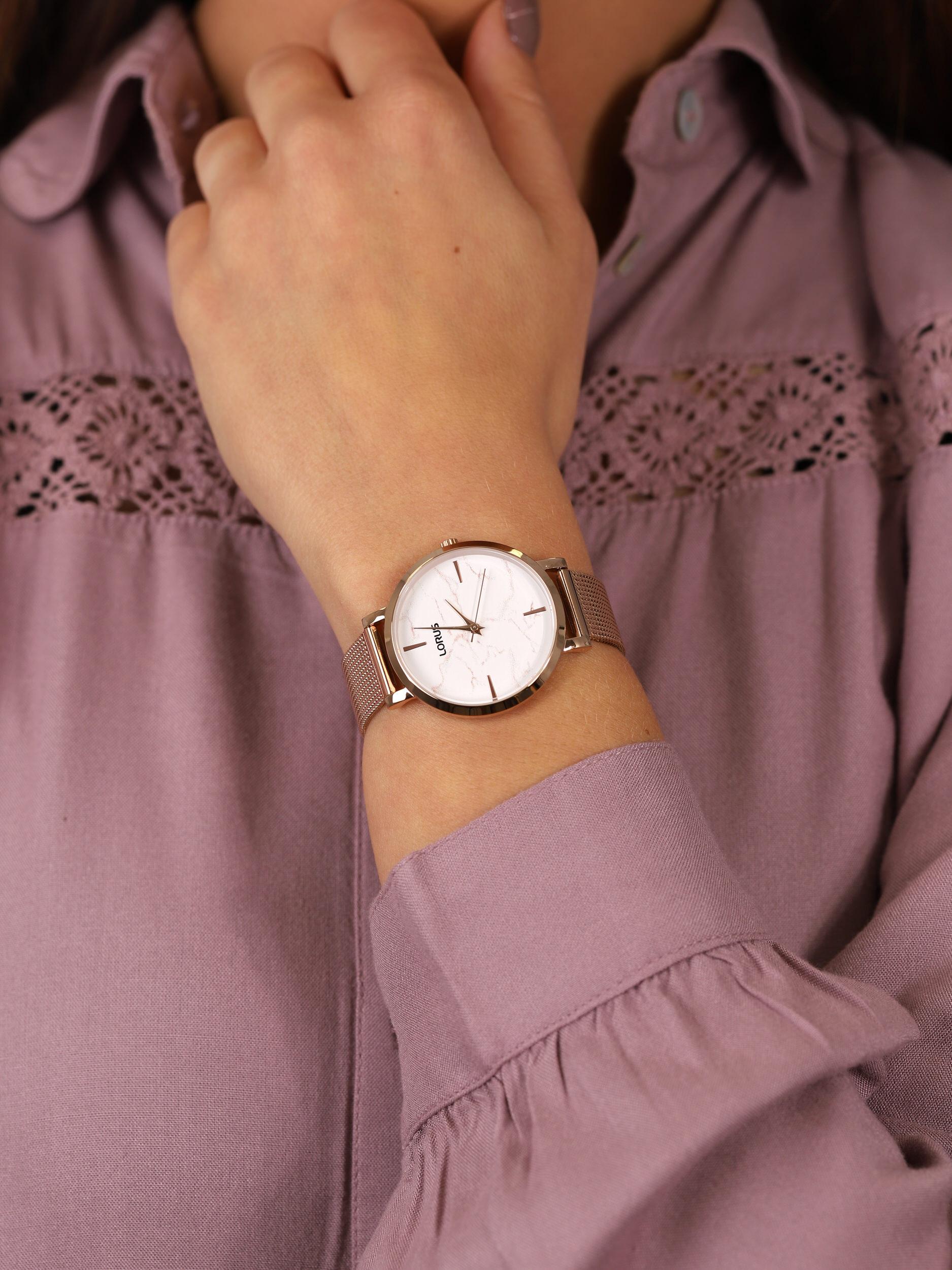 Lorus RG238SX9 damski zegarek Fashion bransoleta