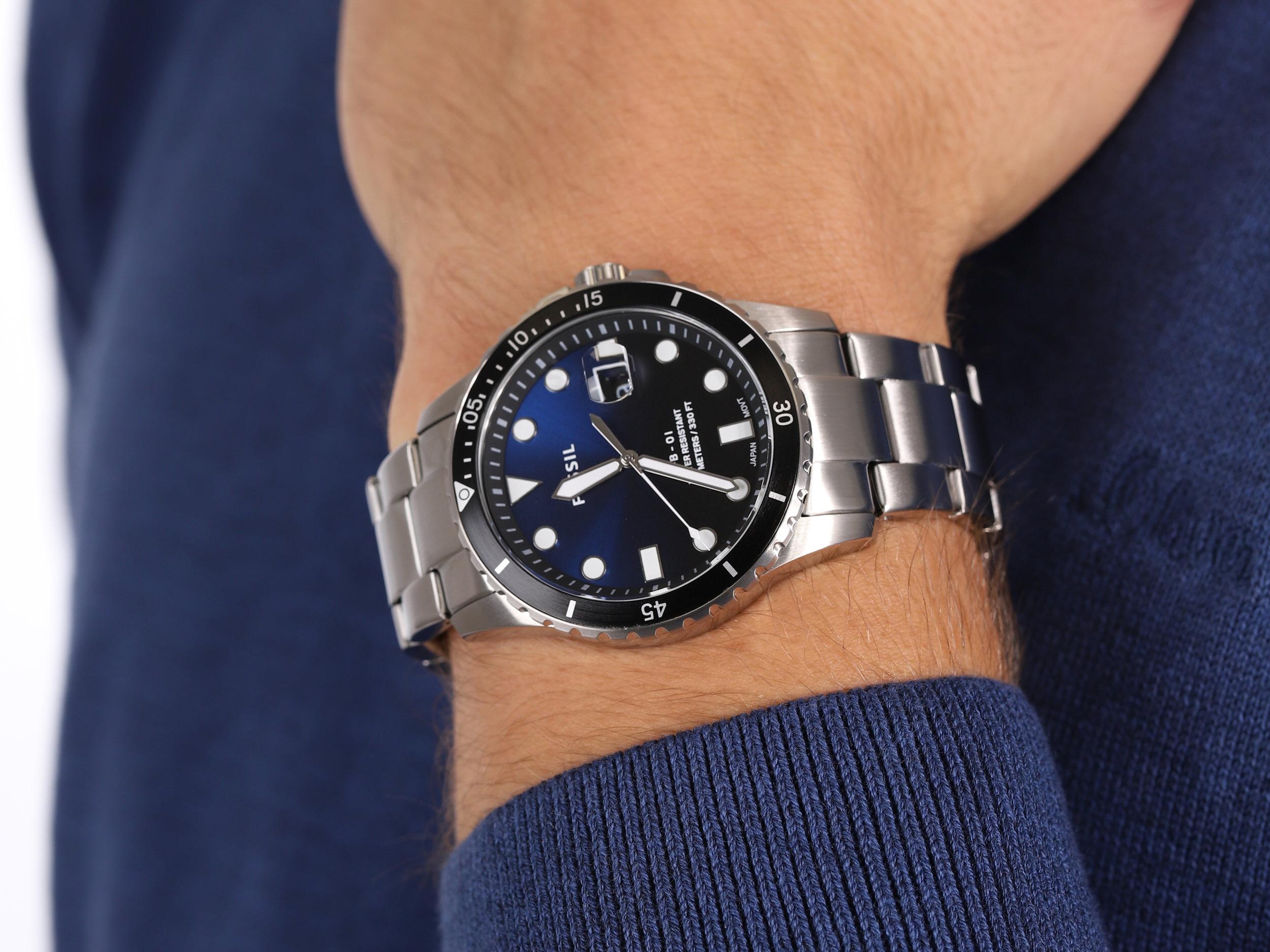 Fossil FS5668 FB-01 zegarek klasyczny FB-01