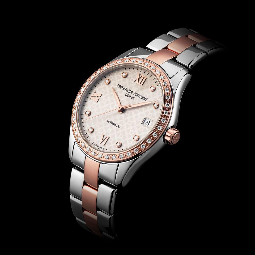 Frederique Constant FC-303LGD3BD2B LADIES AUTOMATIC zegarek klasyczny Ladies Automatic