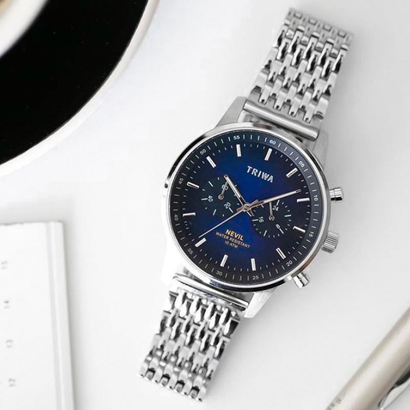 zegarek Triwa NEST130-BR021212 kwarcowy męski Nevil NORDIC NEVIL