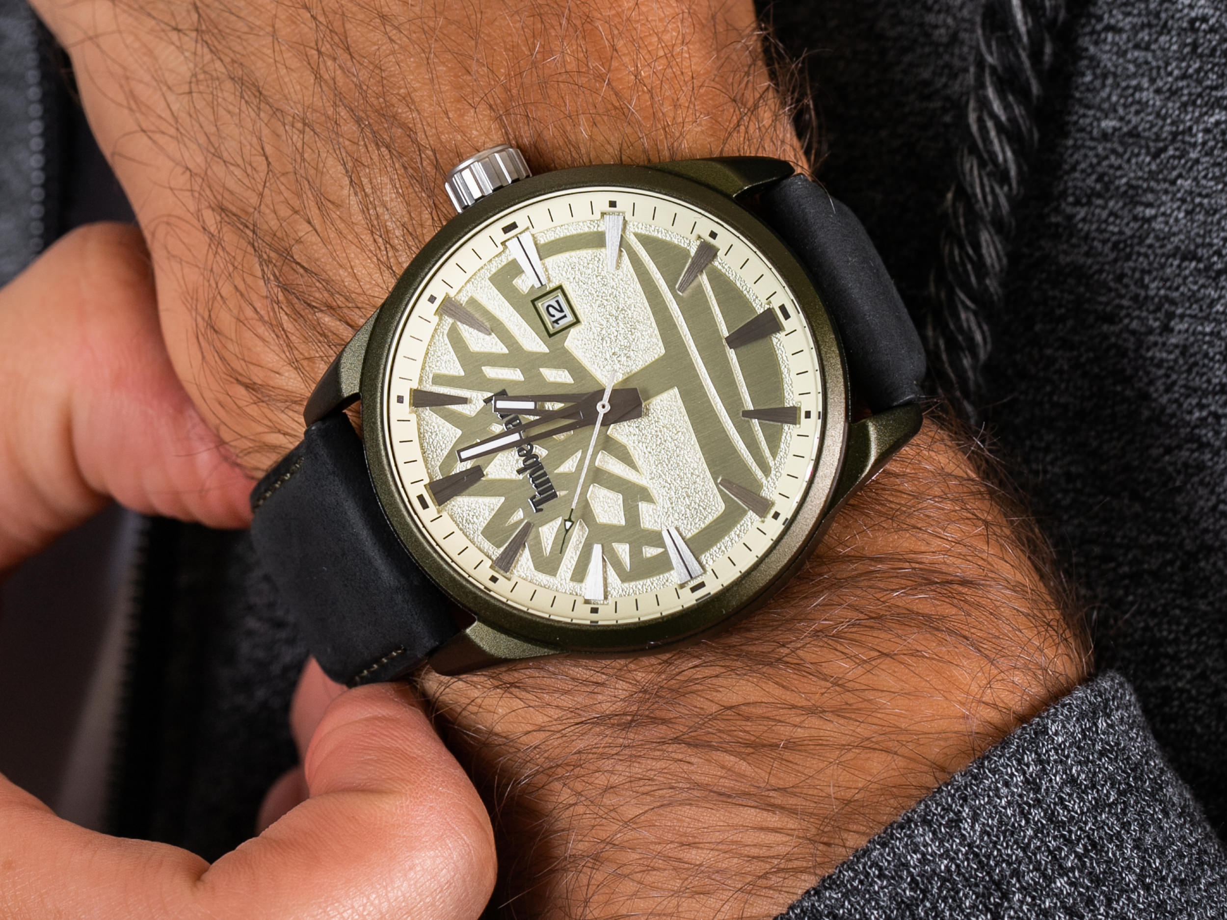 Timberland TBL.15576JLGN-14 PHILLIPSON zegarek klasyczny PHILLIPSON