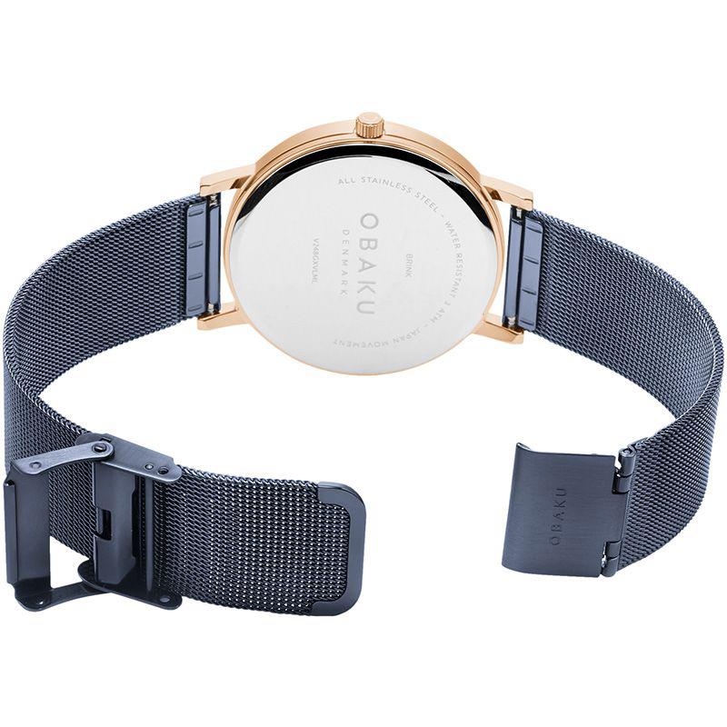 Obaku Denmark V248GXVLML BRINK - OCEAN zegarek klasyczny Slim
