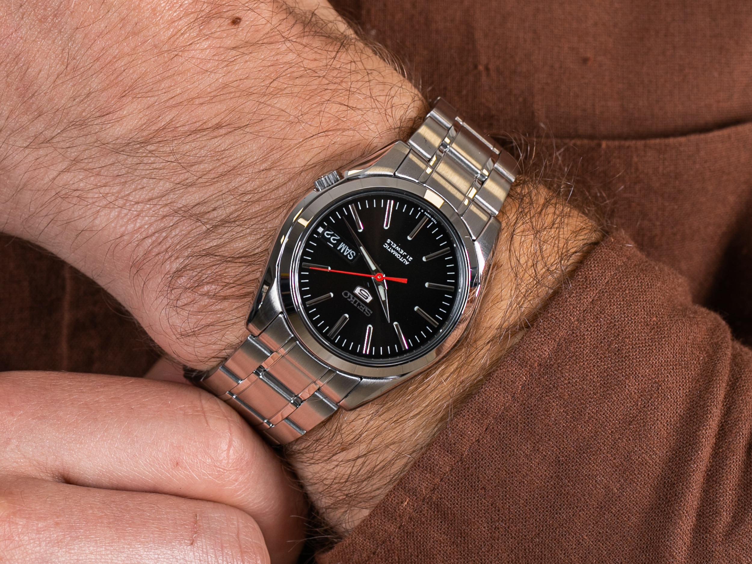 Seiko SNKL45K1 Automatic Classic zegarek klasyczny Sports Automat
