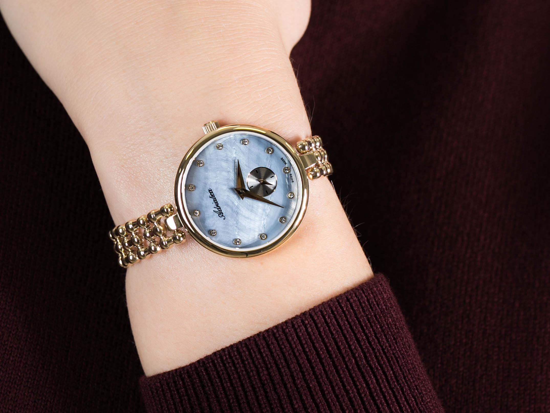 Adriatica A3727.114ZQ zegarek klasyczny Bransoleta
