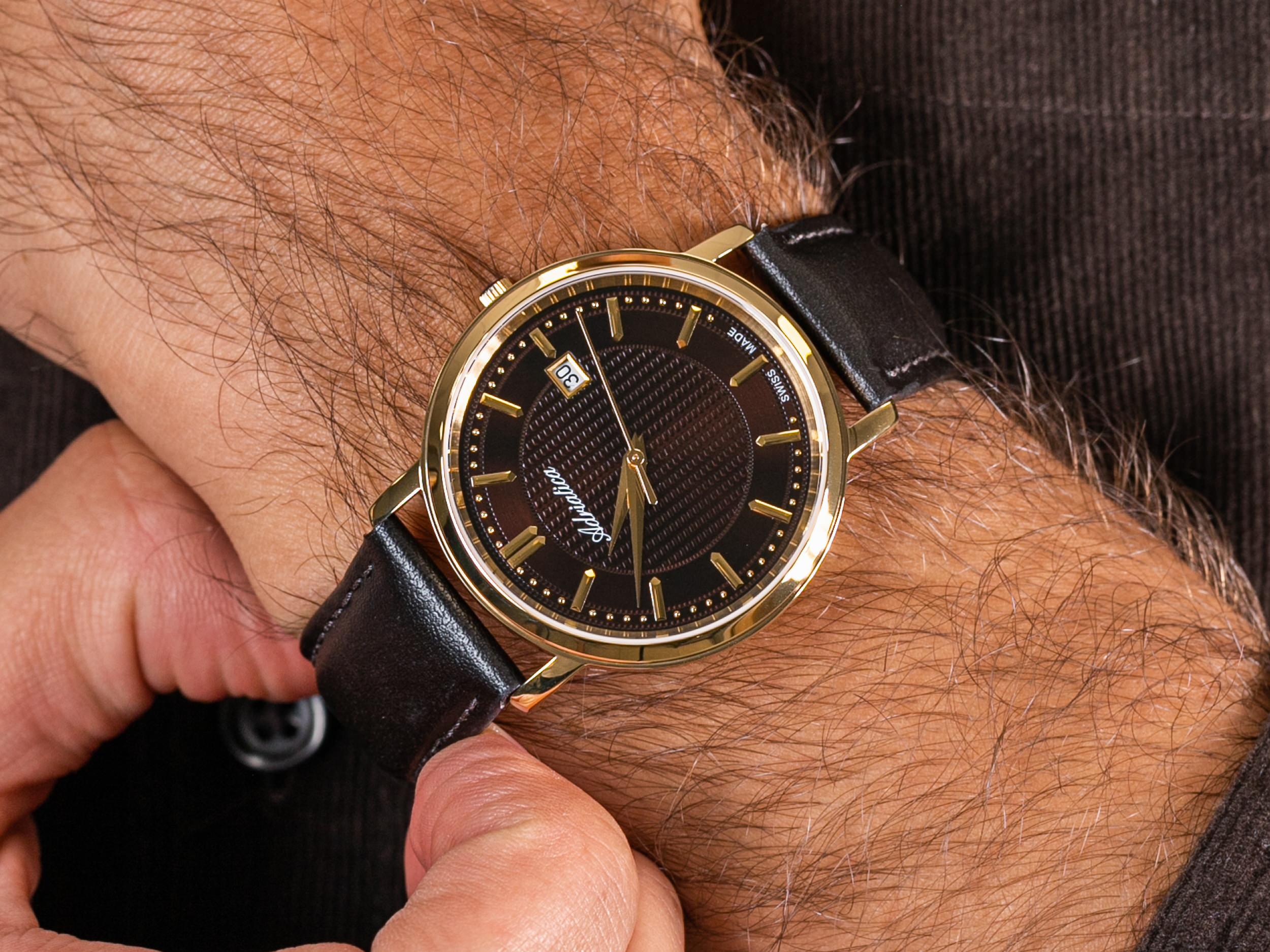 Adriatica A1277.121GQ Classic zegarek klasyczny Pasek