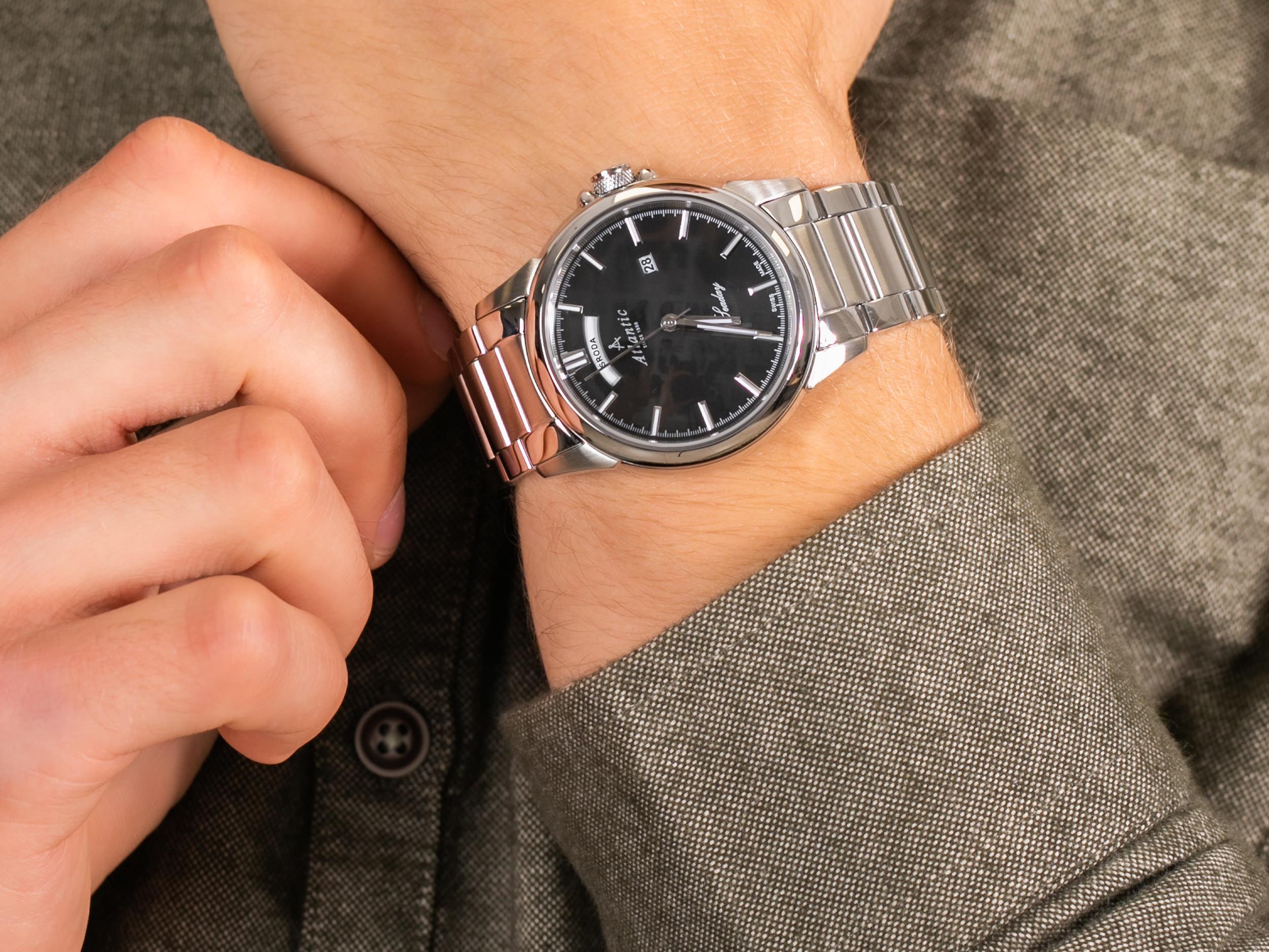 Atlantic 69555.41.61P zegarek klasyczny Seaday
