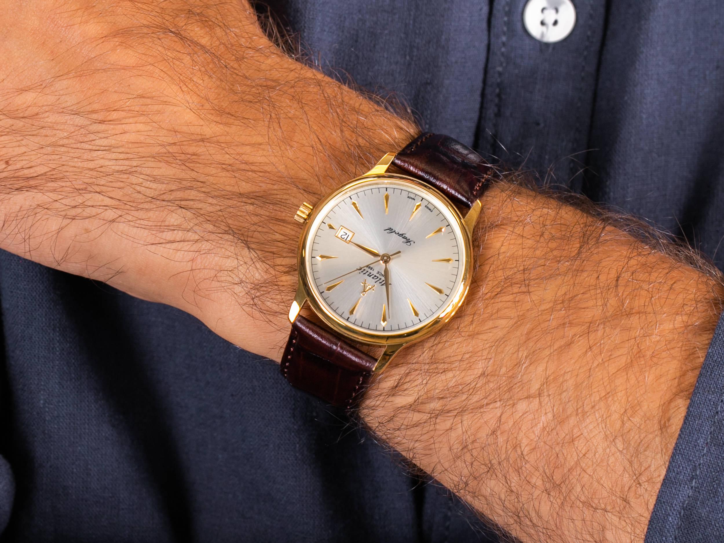 Atlantic 95343.65.21 zegarek klasyczny Seagold