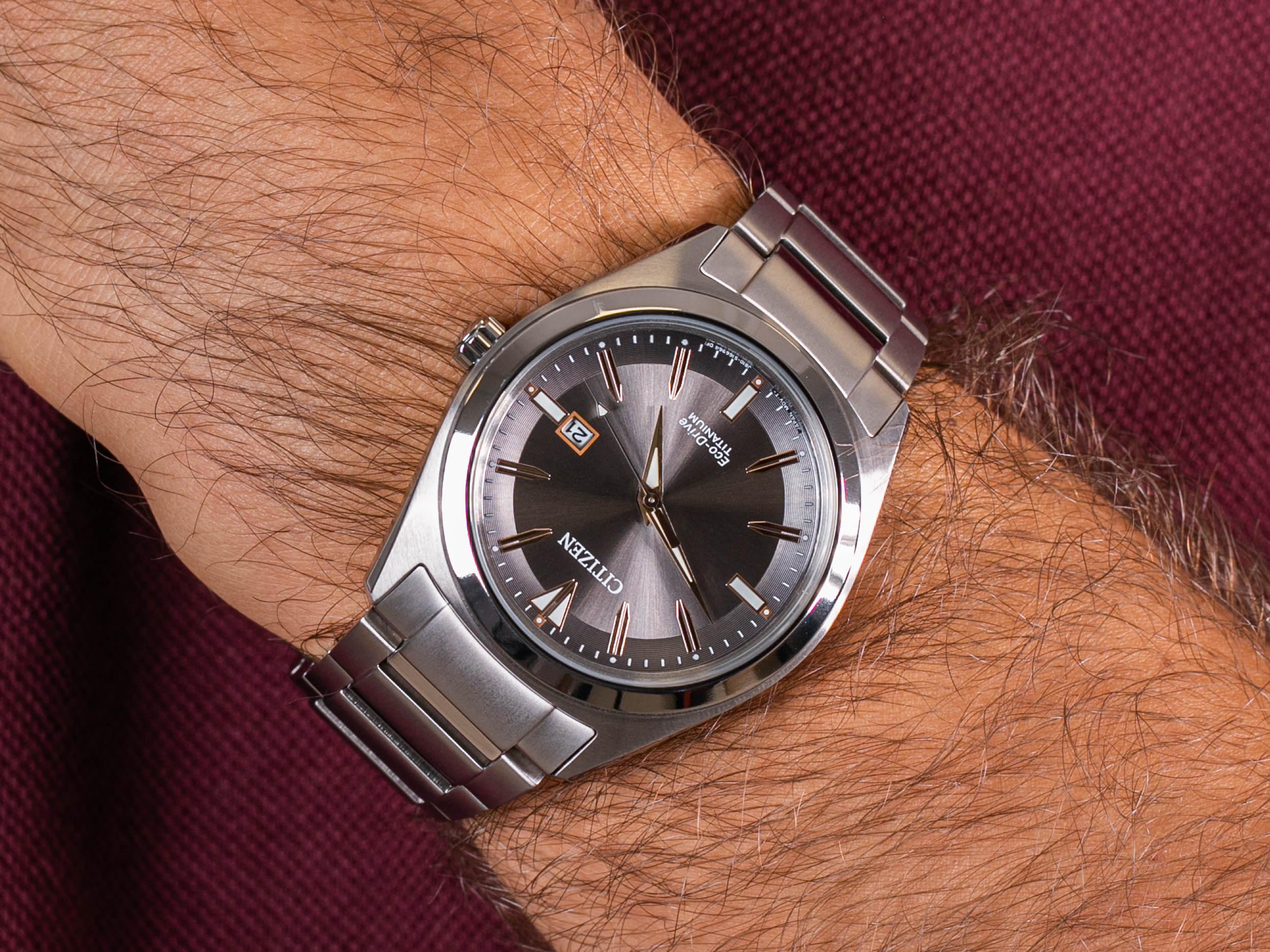 Citizen AW1640-83H zegarek klasyczny Titanium